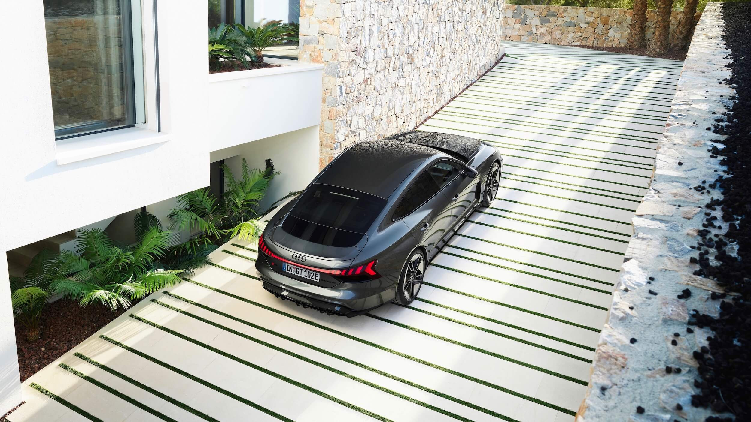 Audi e tron GT RS carro