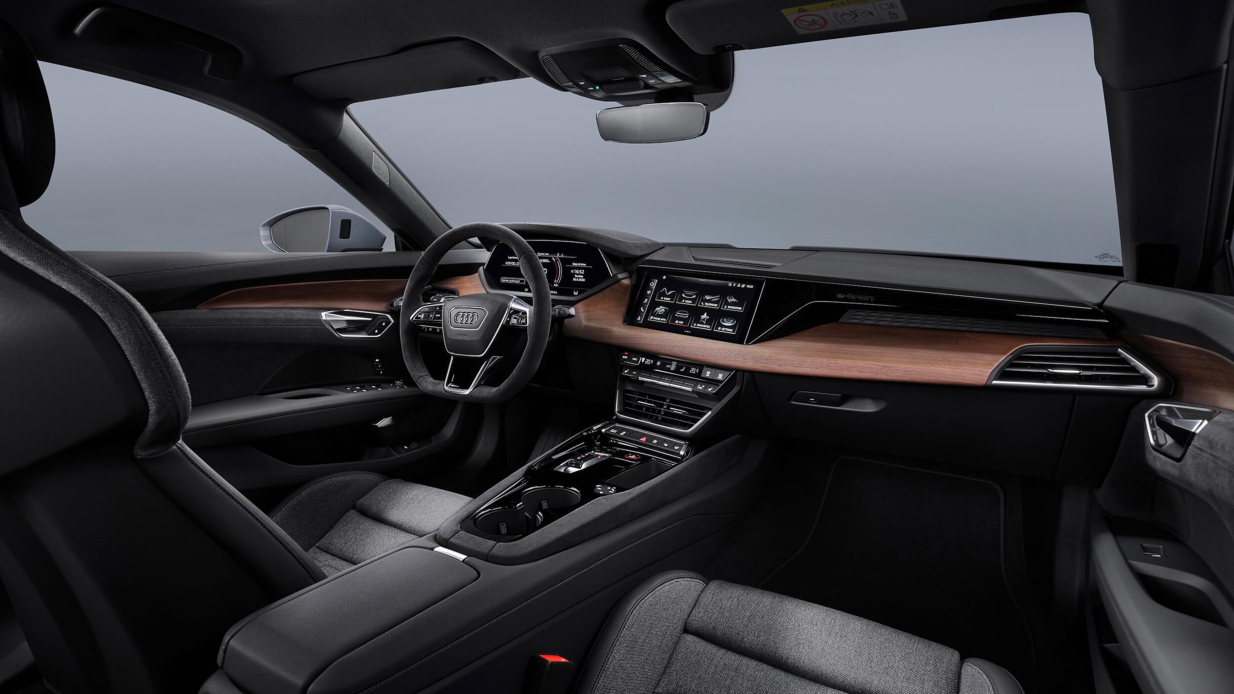 Audi e tron GT dashboard