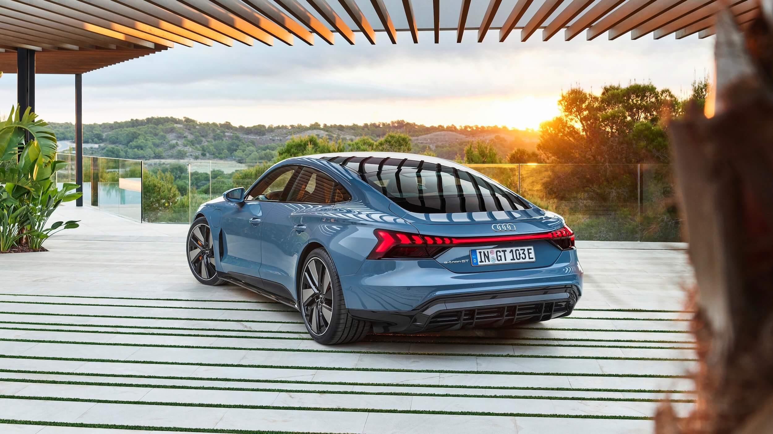 Audi e tron GT quattro carro elétrico