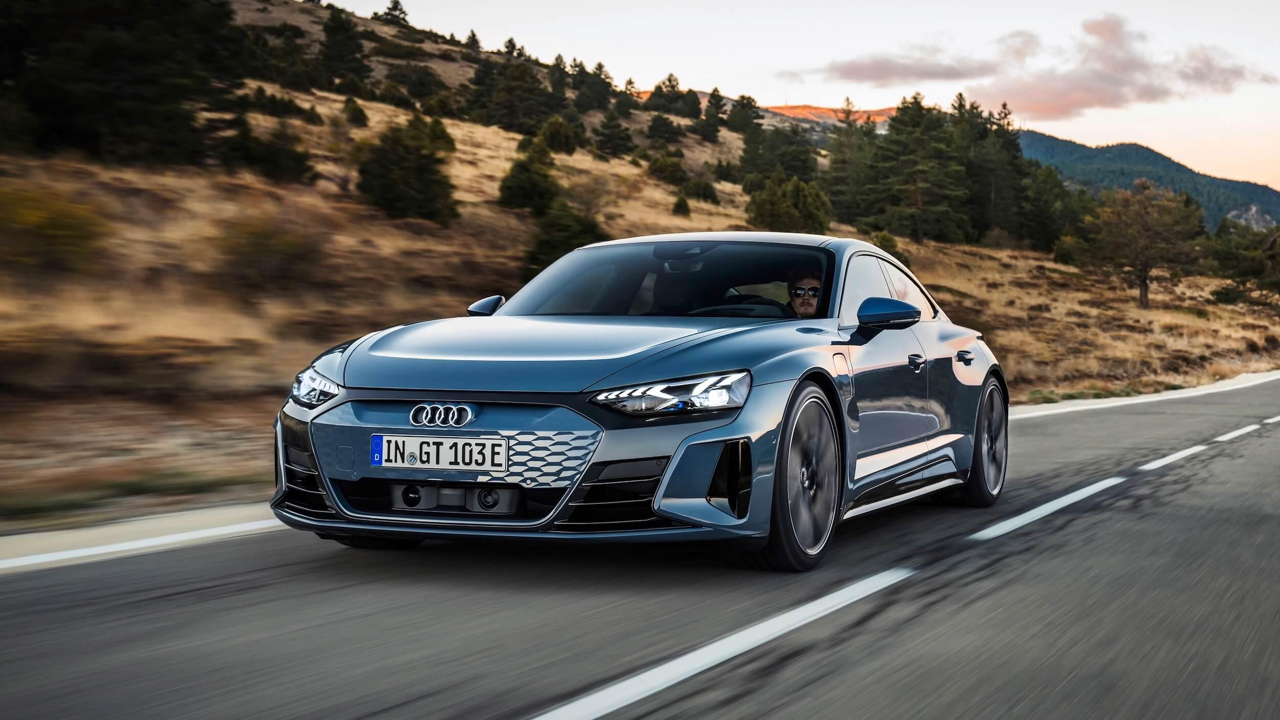 Audi e tron GT quattro carro