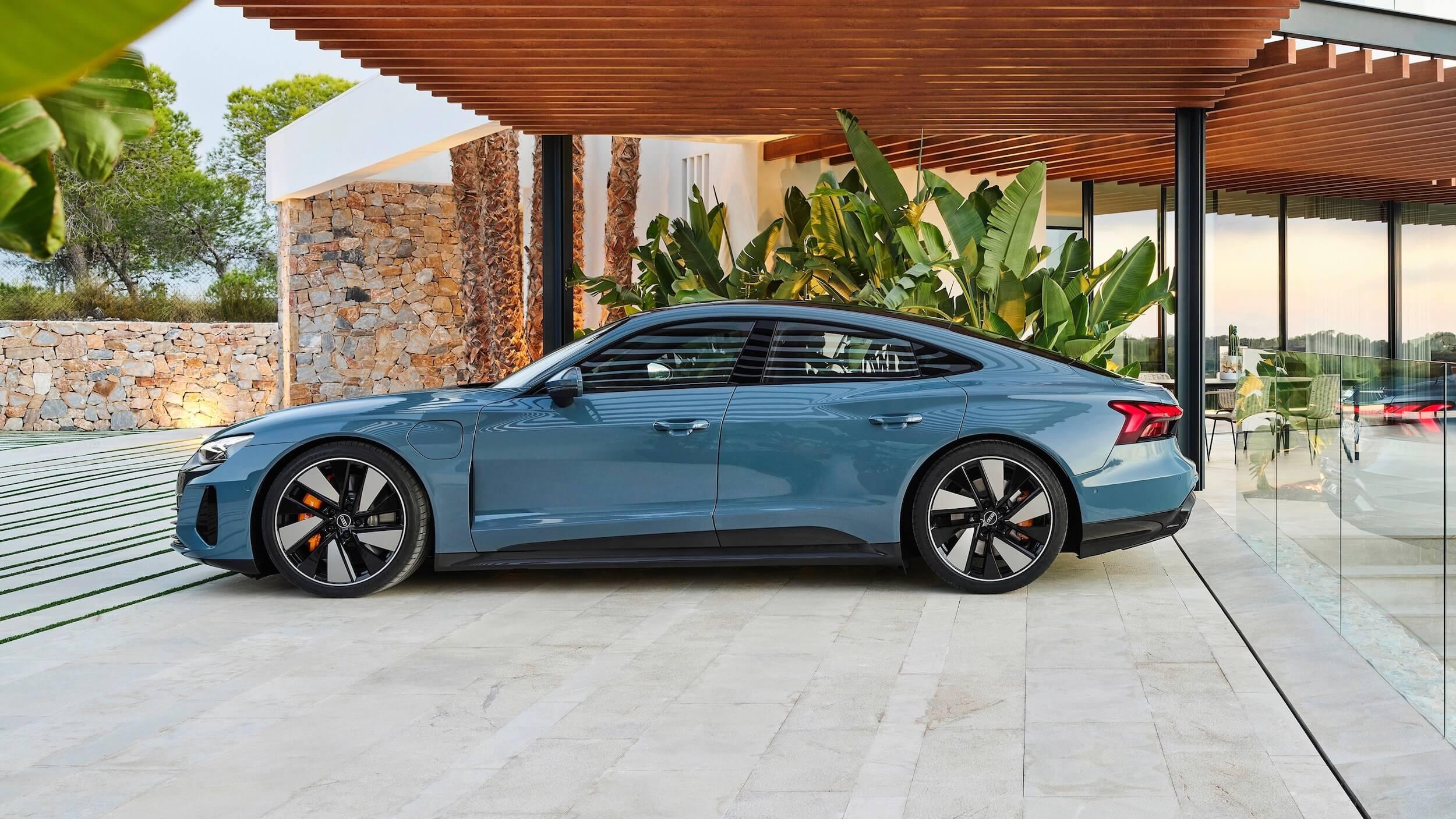 Audi e tron GT quattro perfil