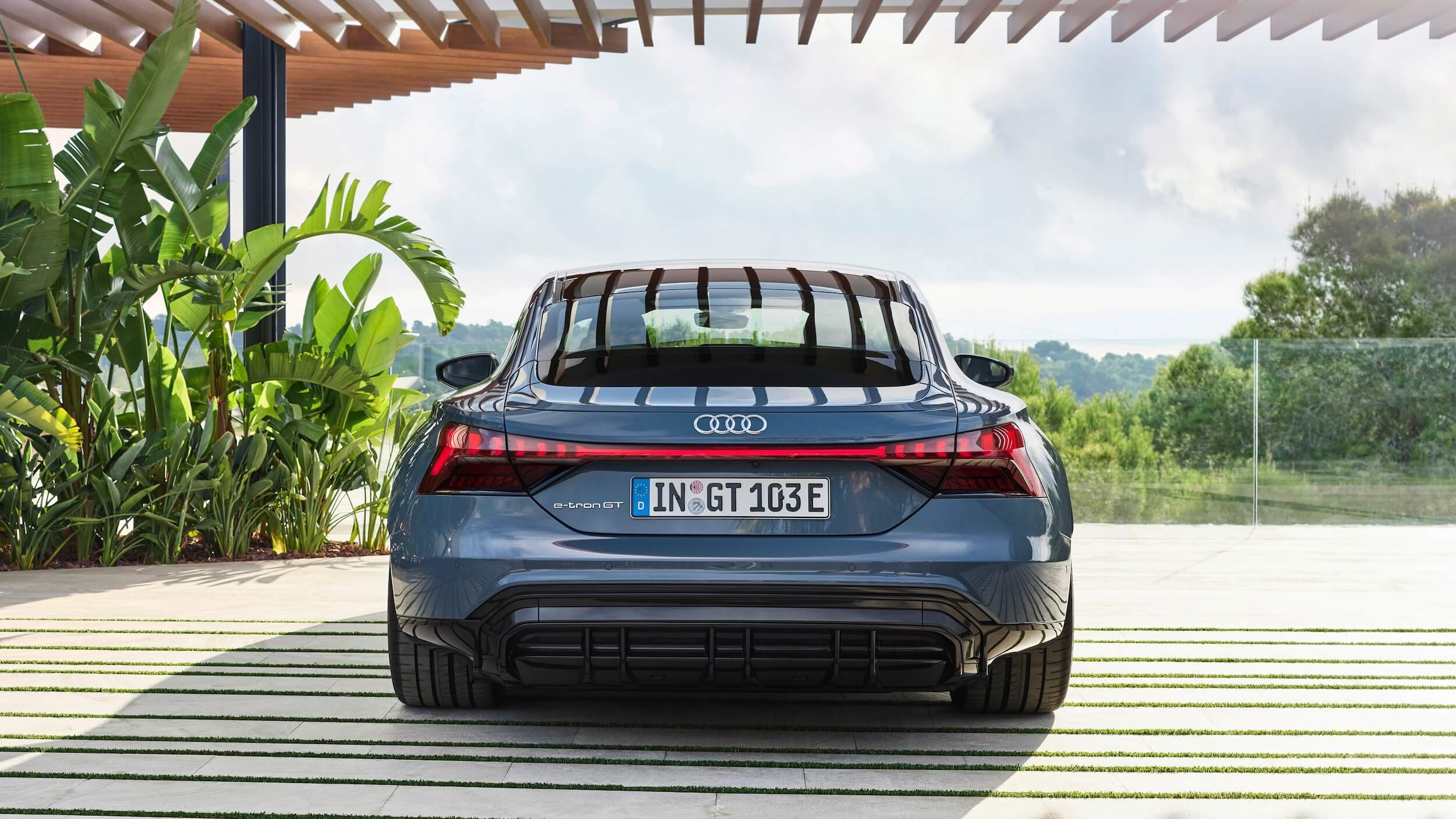 Audi e tron GT quattro traseira