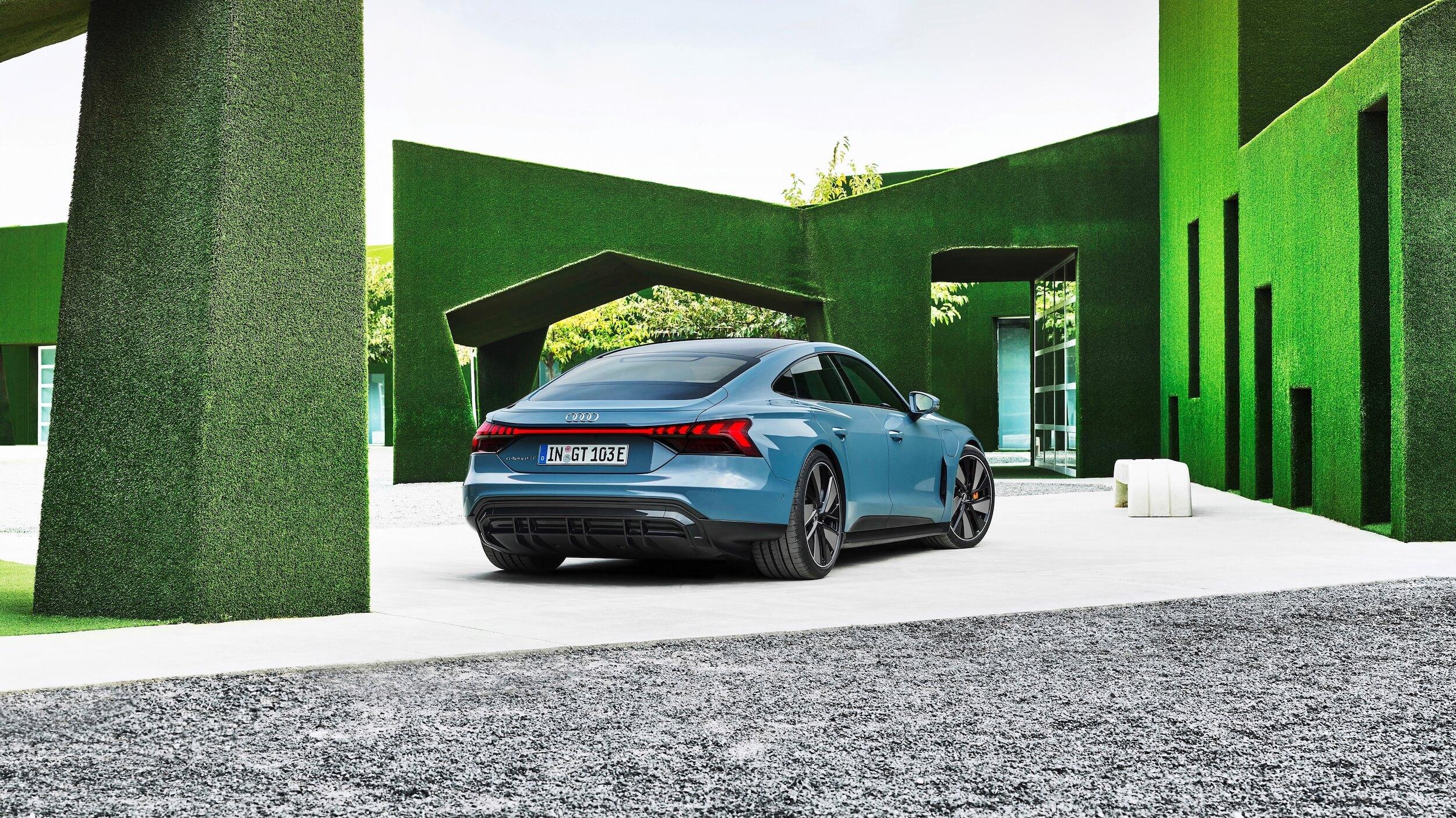 Audi e tron GT quattro verde