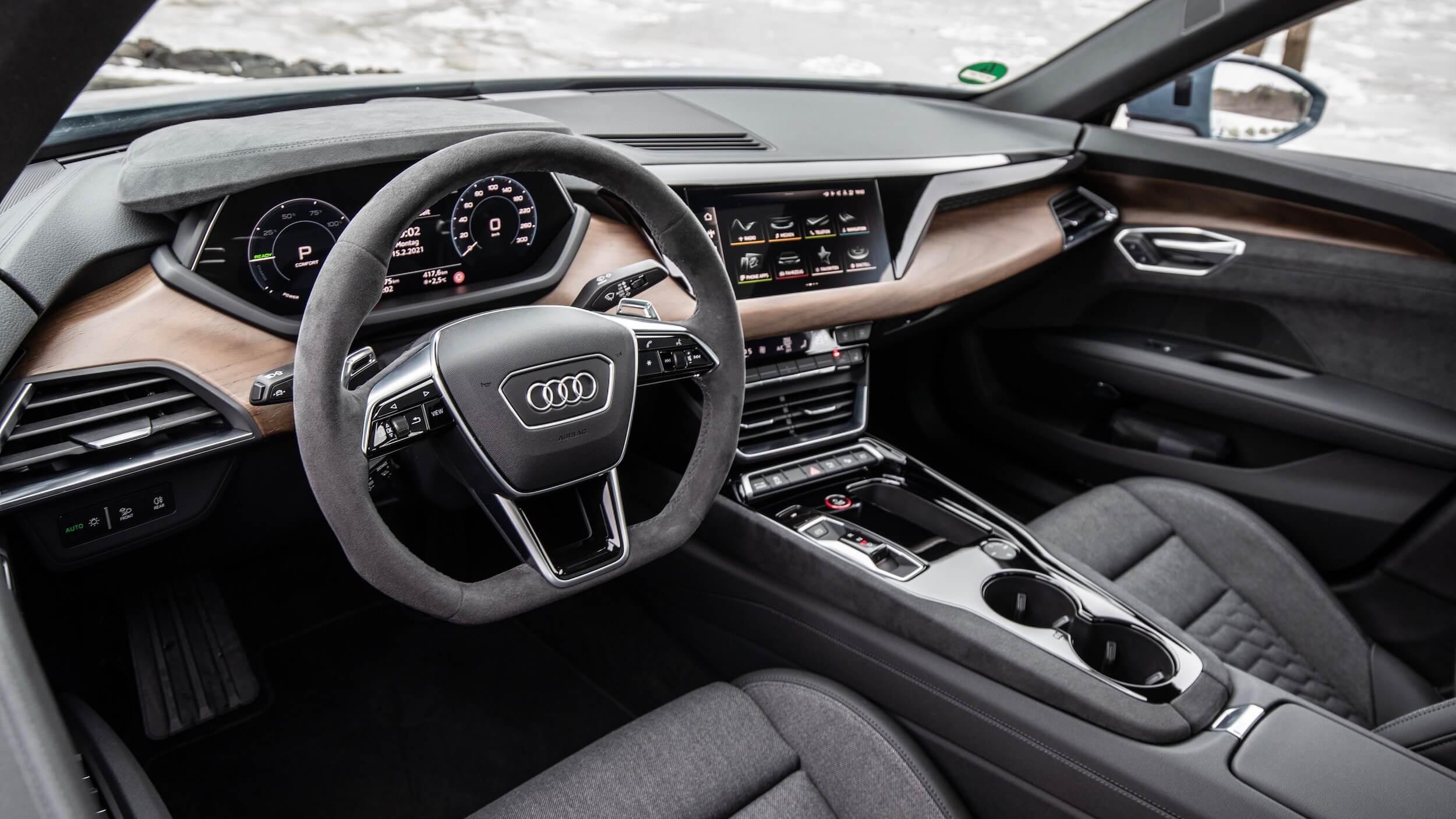 Audi e tron GT volante