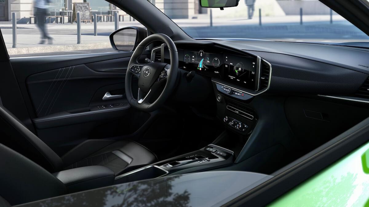 Opel Mokka e interior ecrã