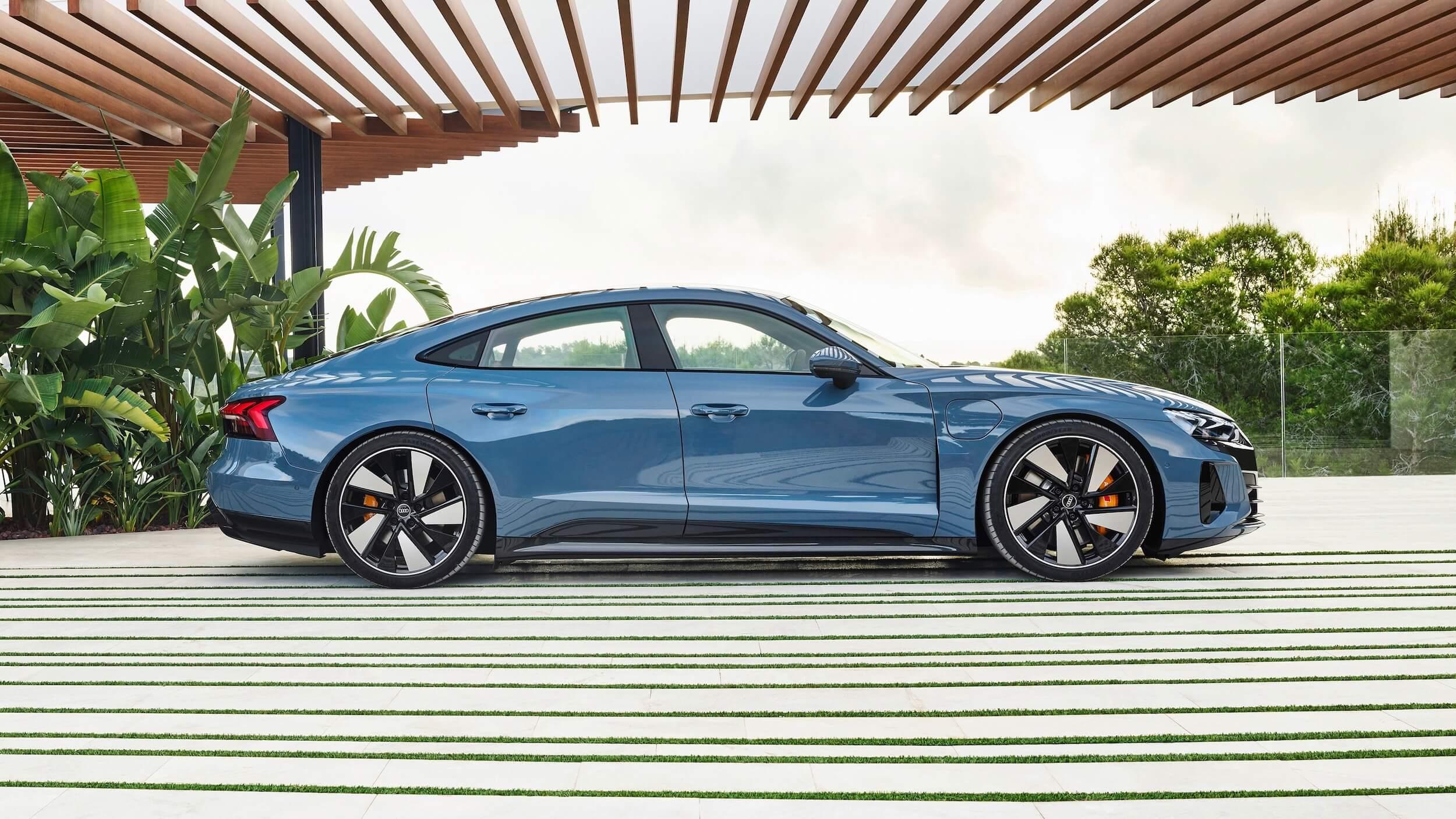 Perfil Audi e tron GT quattro