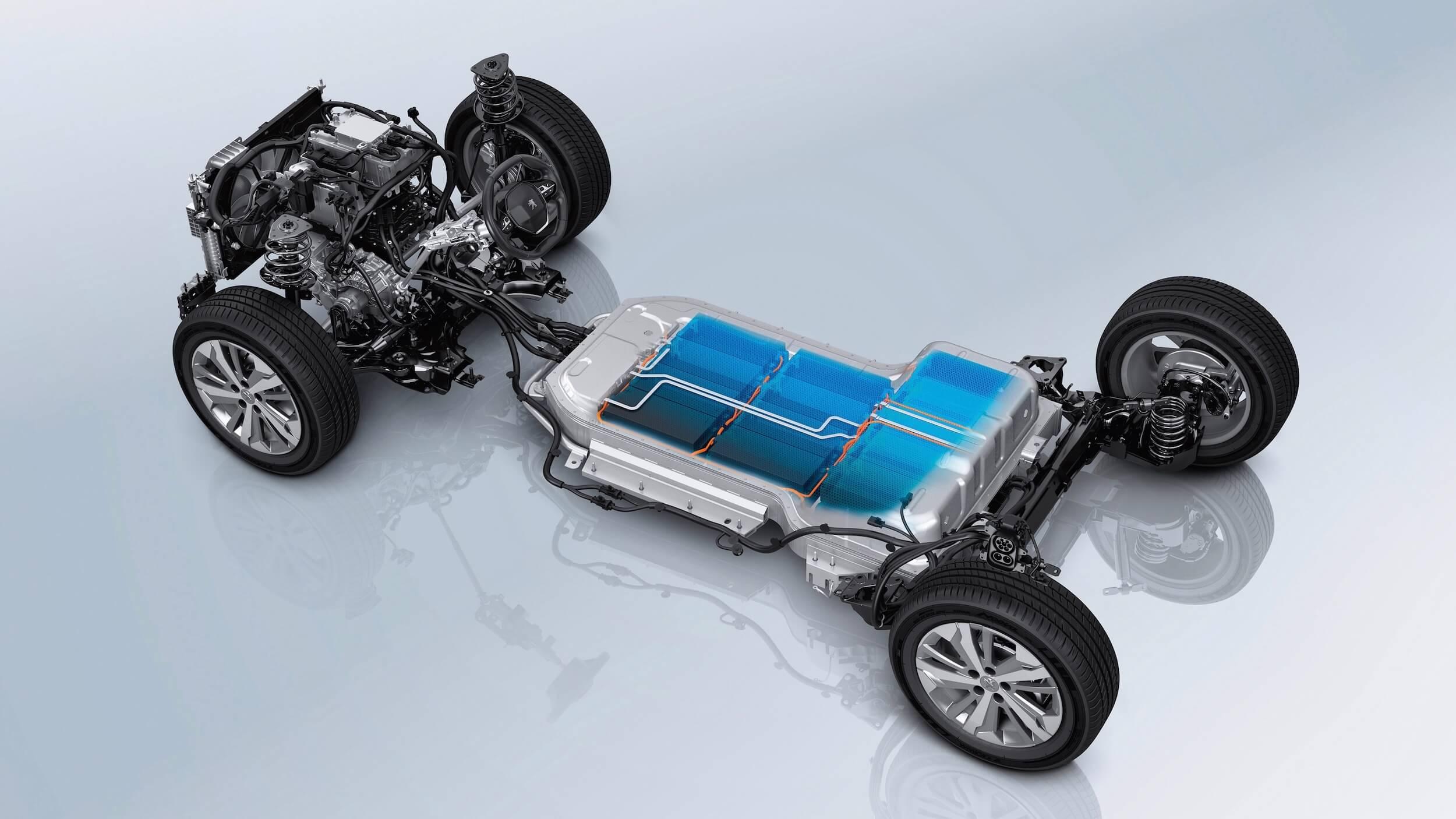 Peugeot e Rifter bateria
