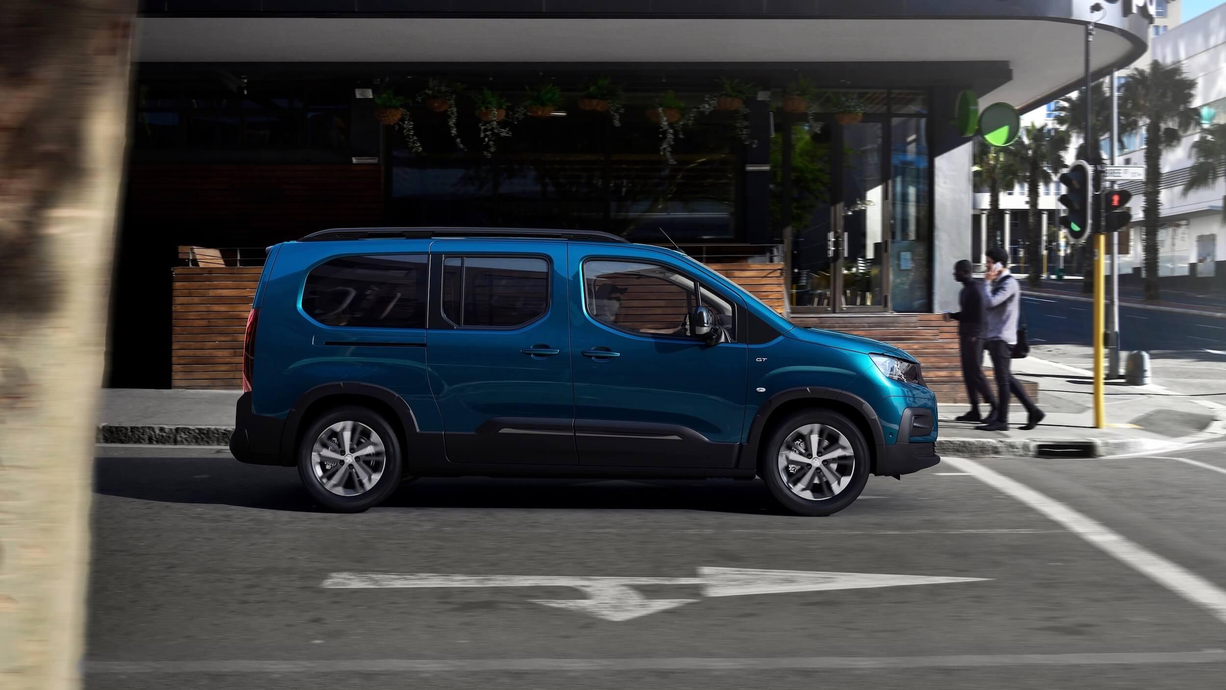 Peugeot e Rifter perfil
