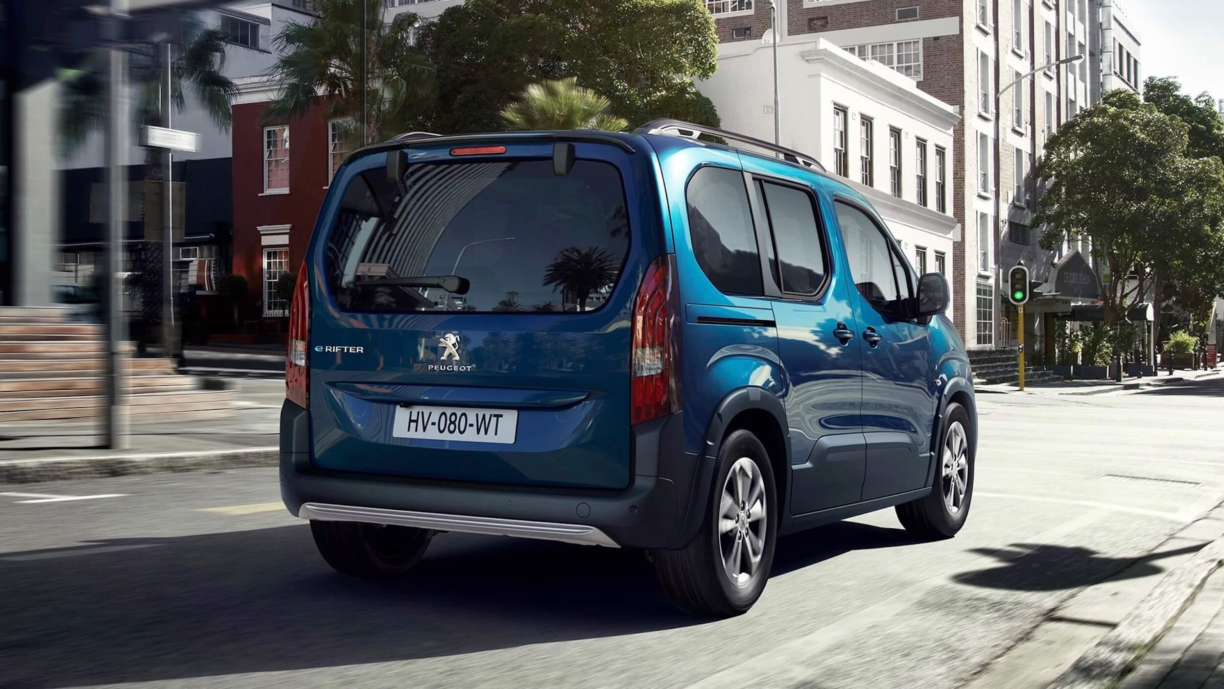 Peugeot e Rifter traseira