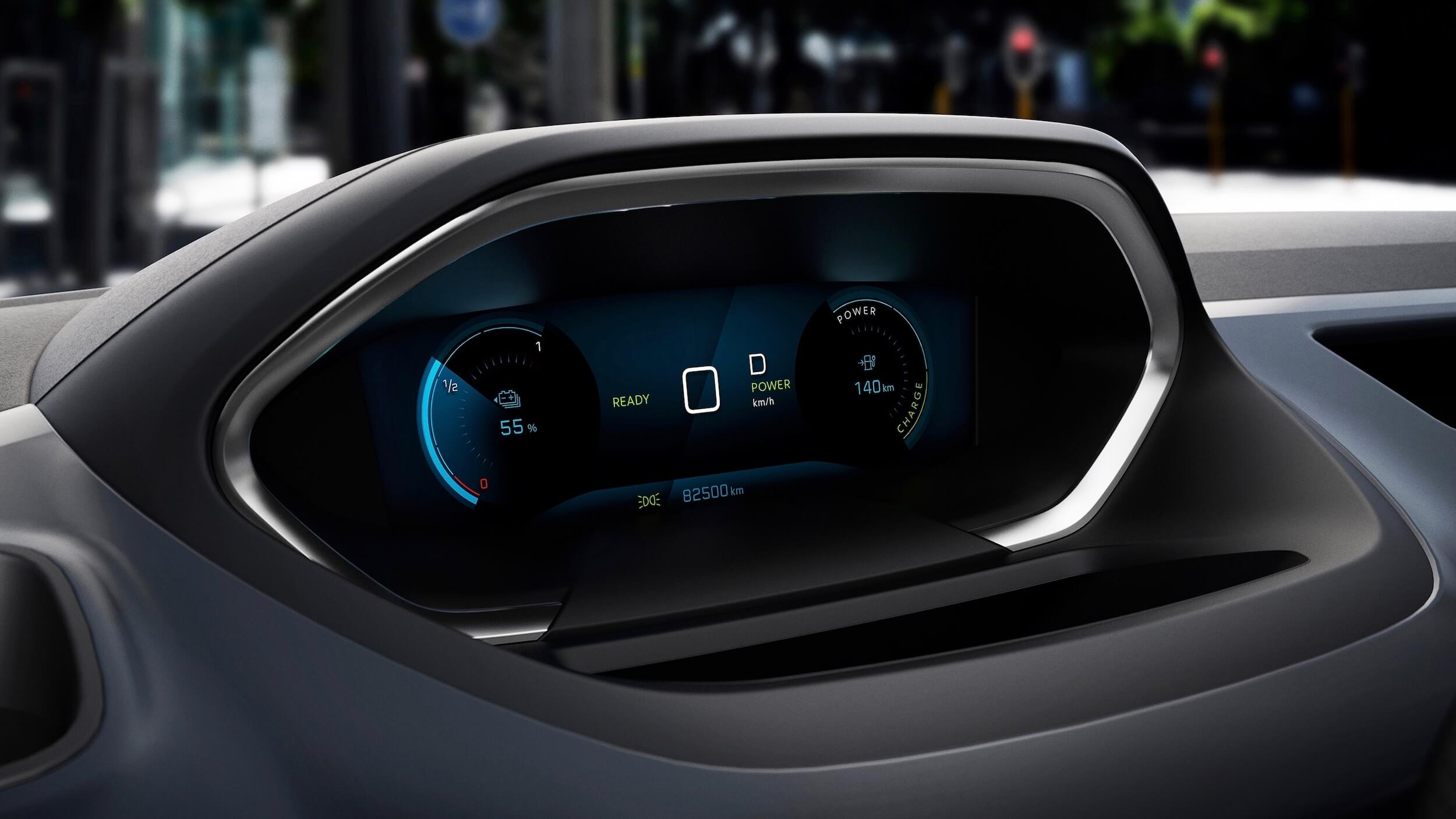 Peugeot e Rifter velocidade