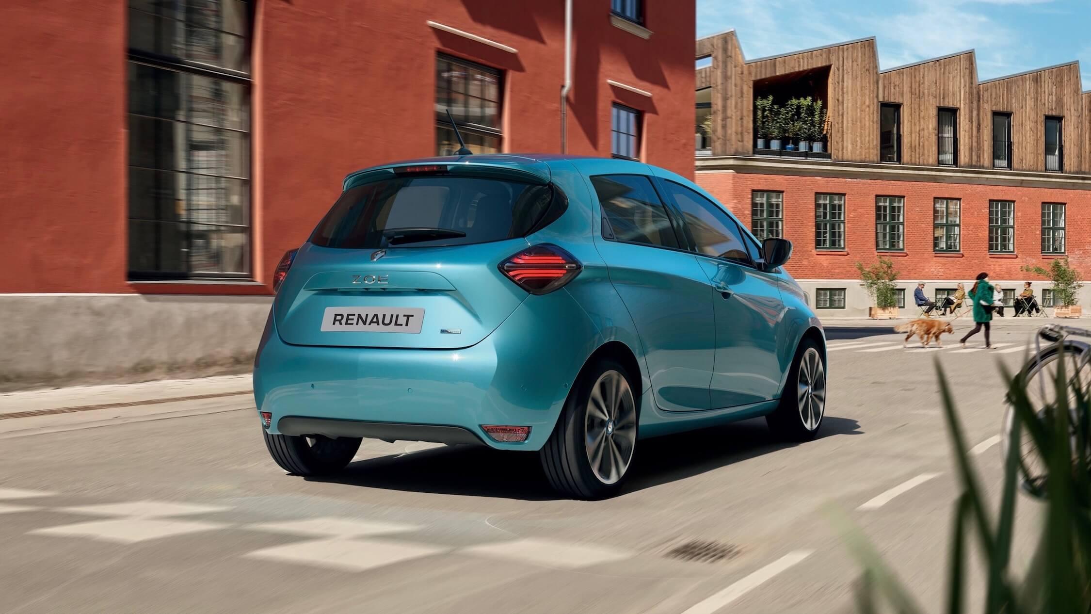 Renault ZOE traseira
