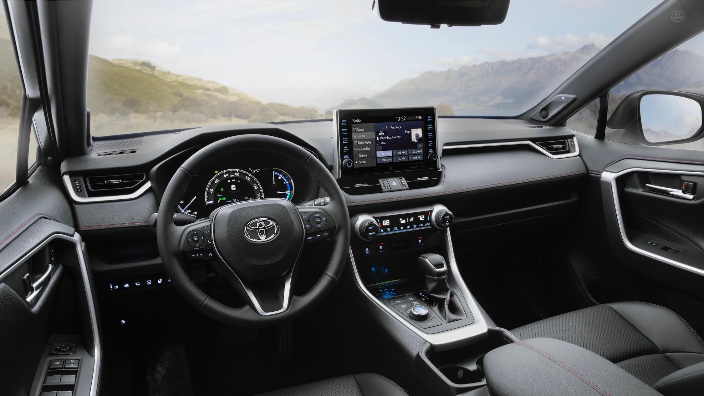 Toyota RAV4 PHEV interior