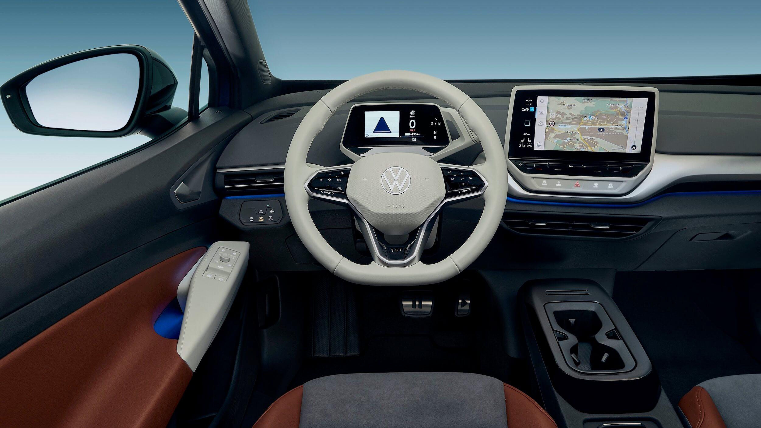 VW ID.4 elétrico SUV interior