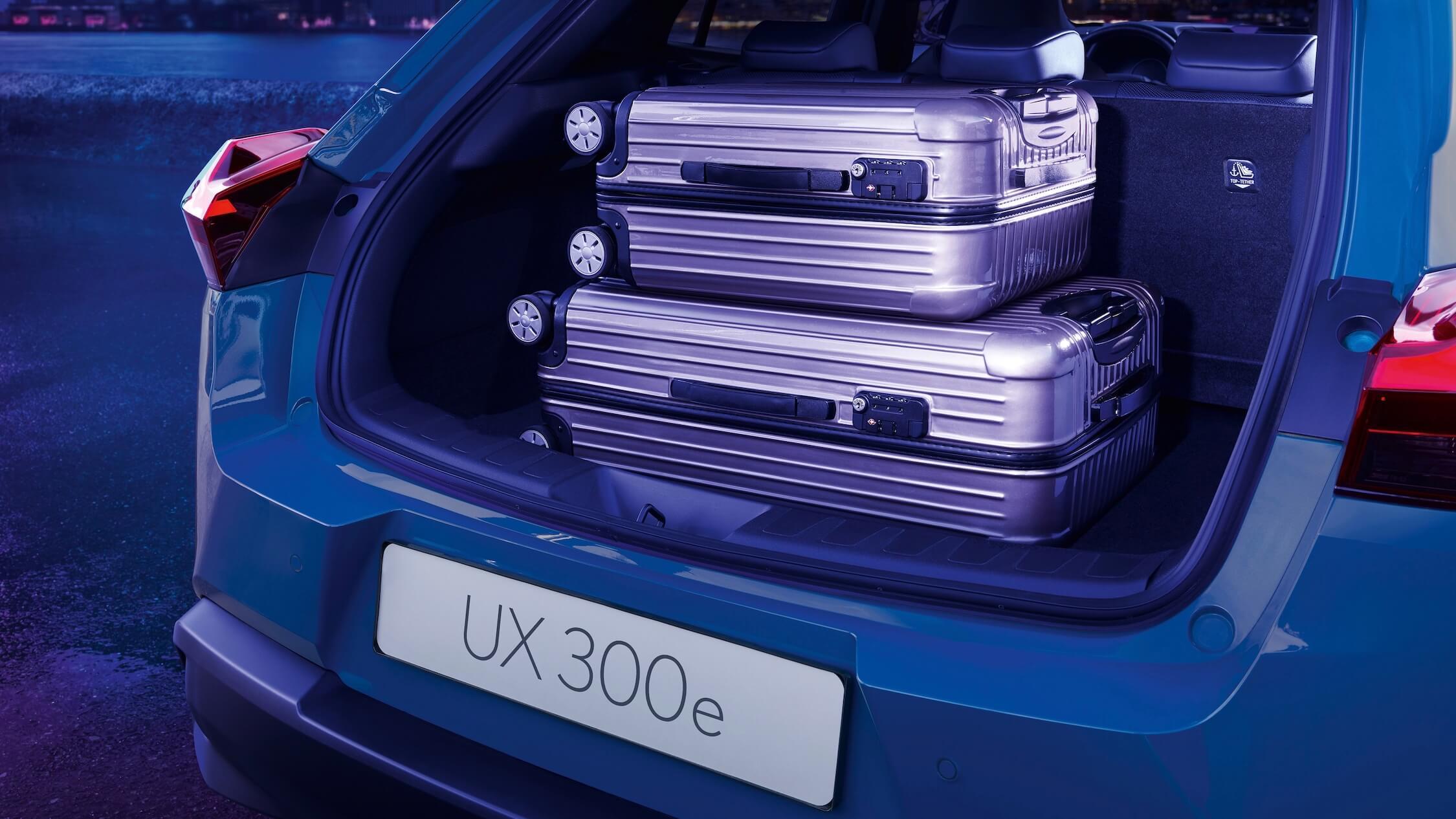 Lexus UX 300e bagageira