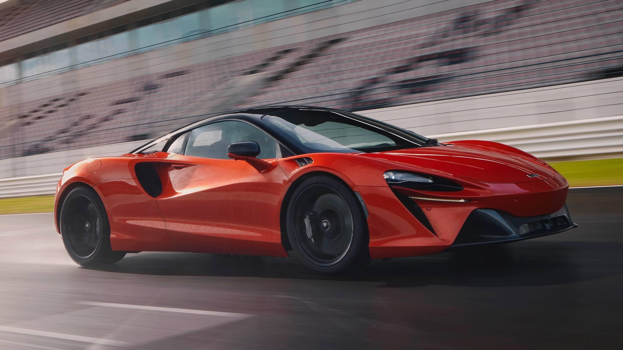McLaren Artura carro desportivo