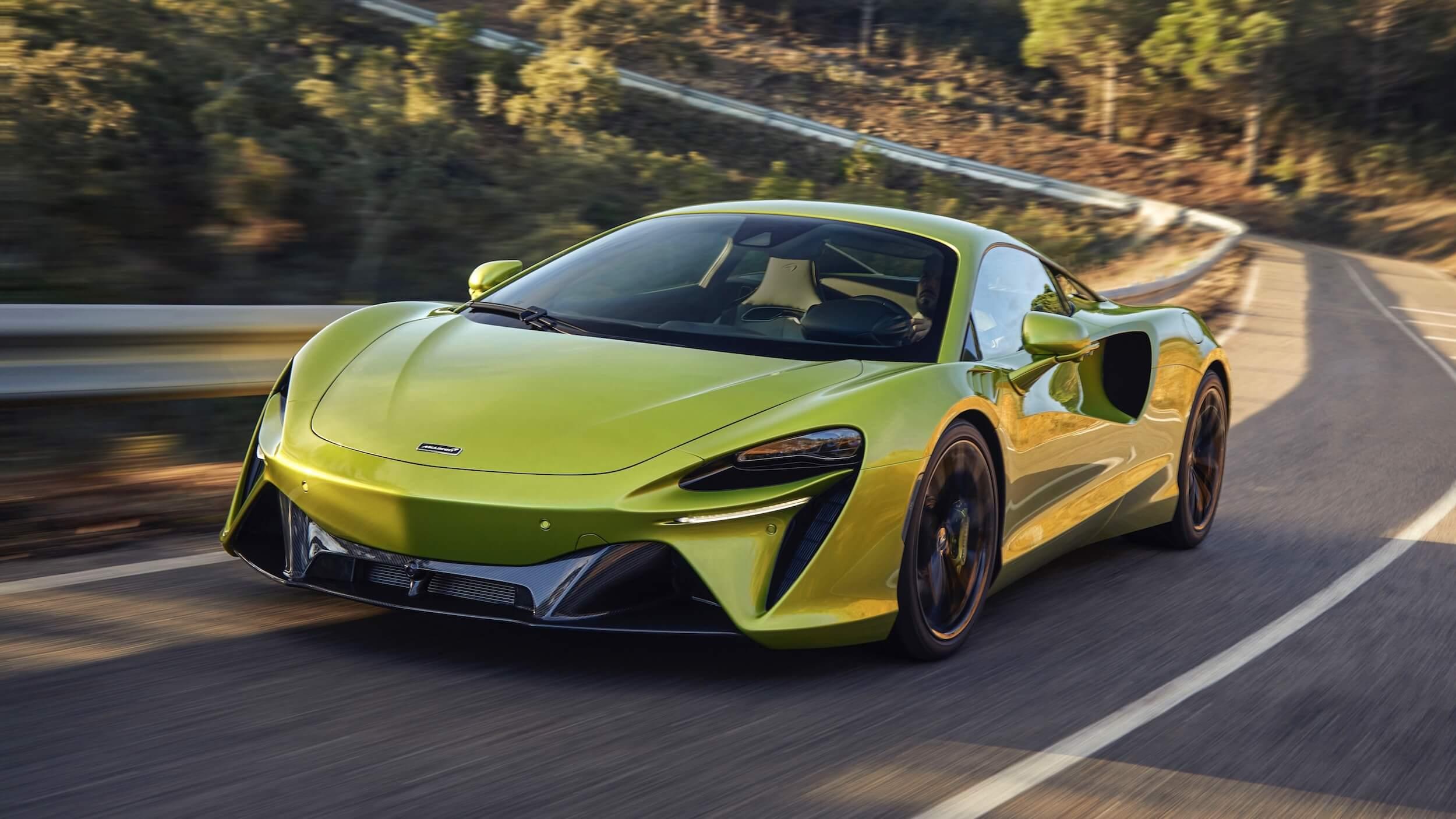 McLaren Artura híbrido