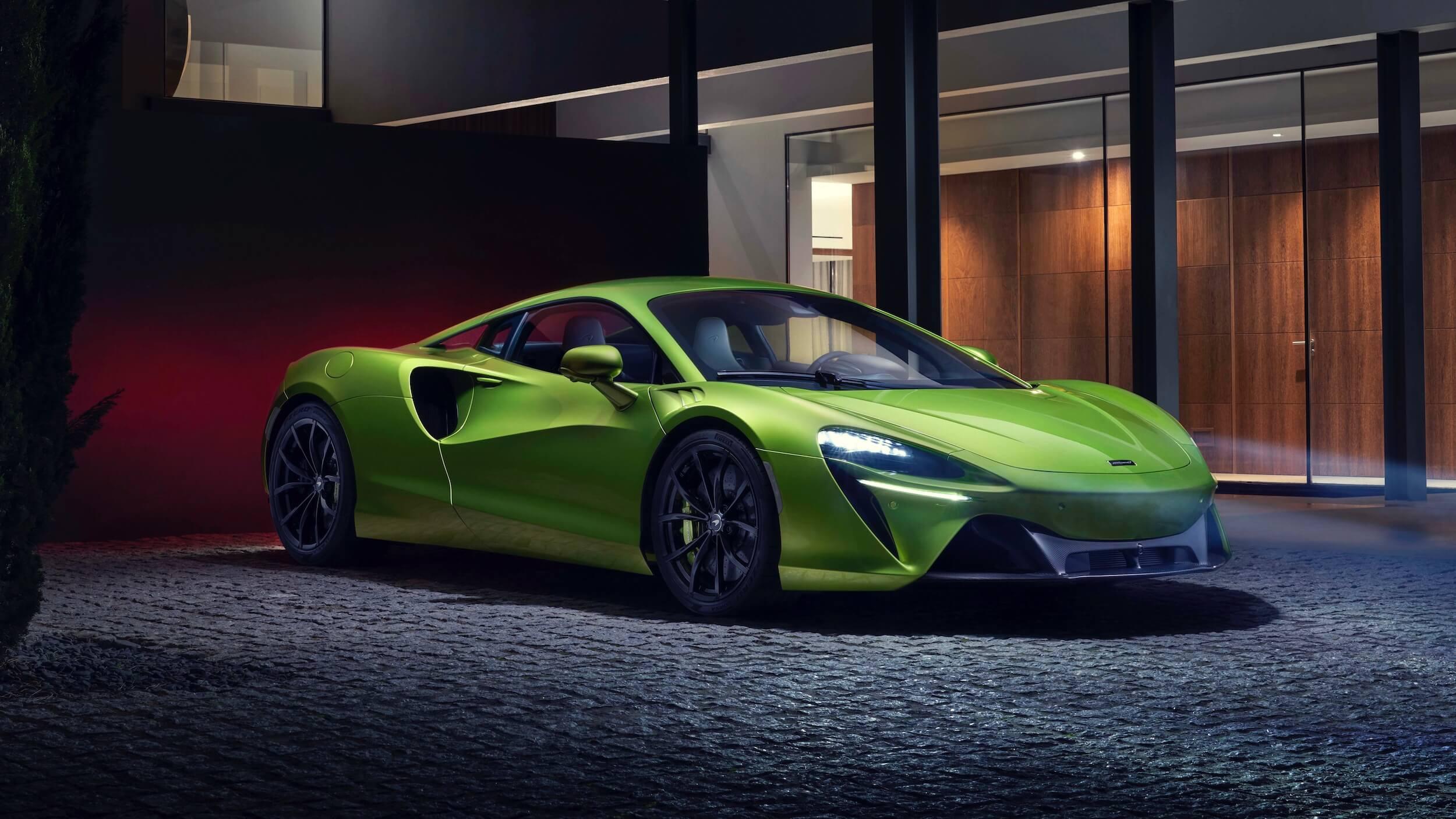 McLaren Artura hypercar