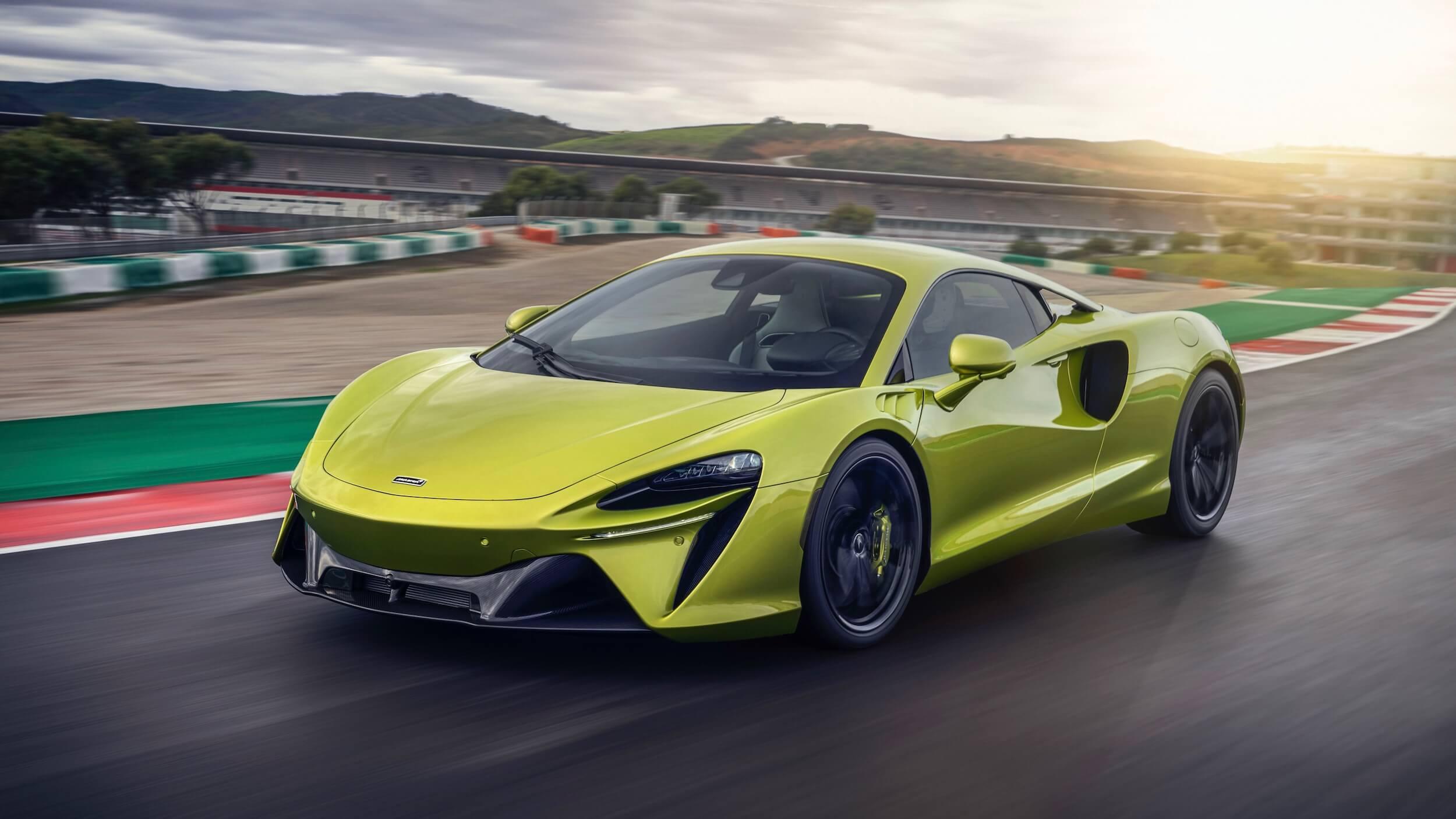 McLaren Artura plug in hybrid