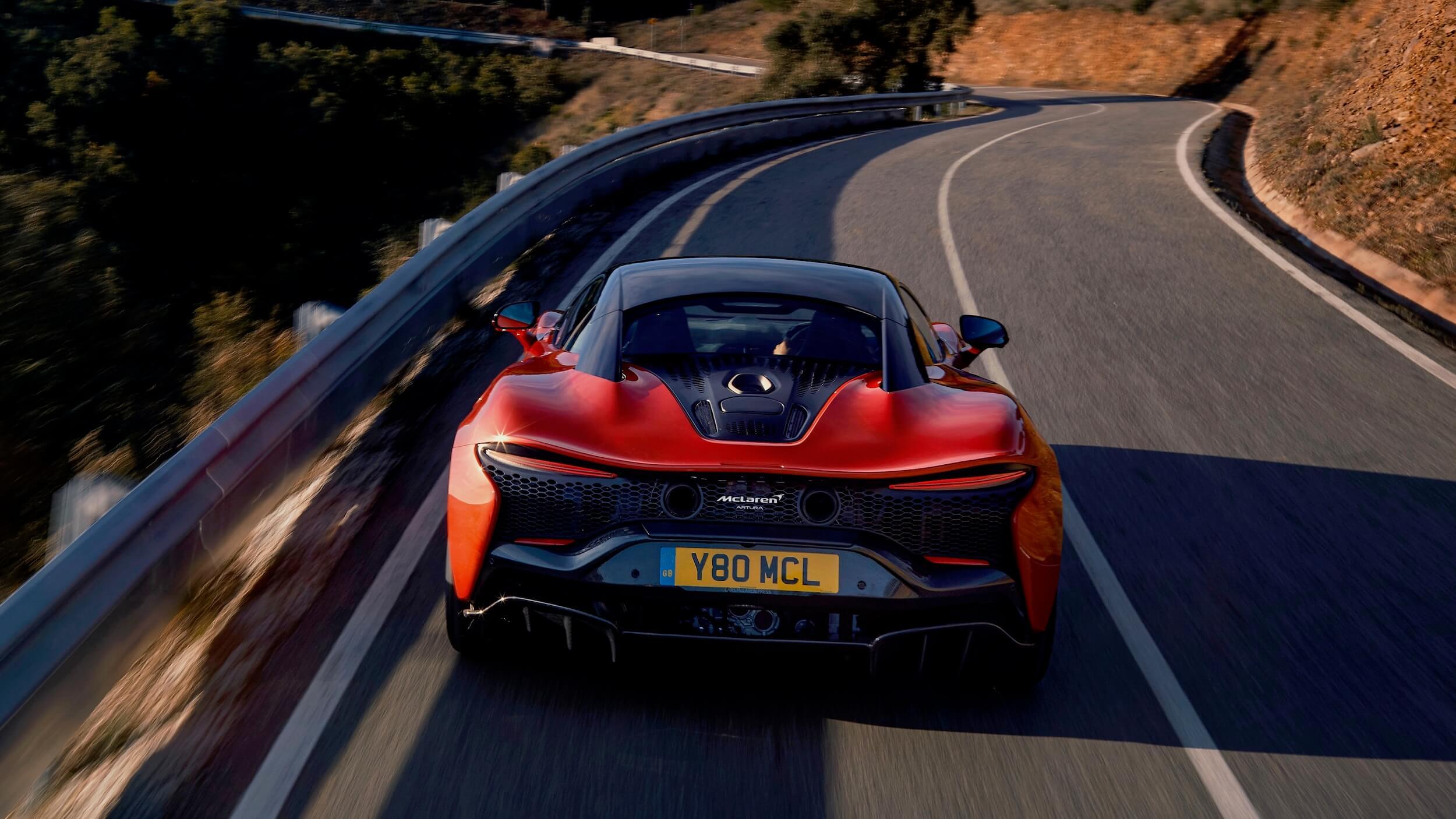 McLaren Artura traseira