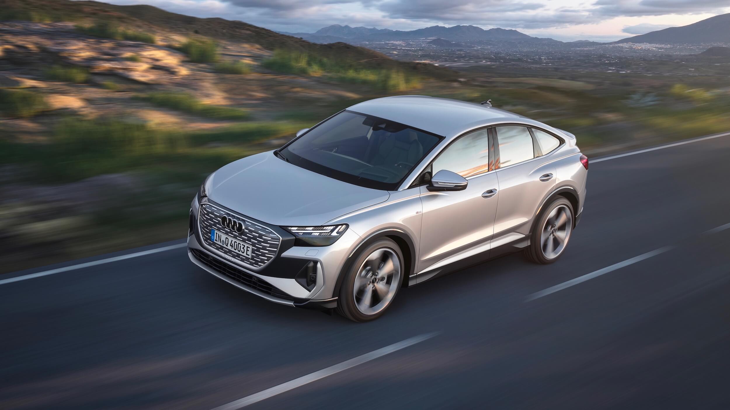 Audi Q4 Sportback e-tron elétrico