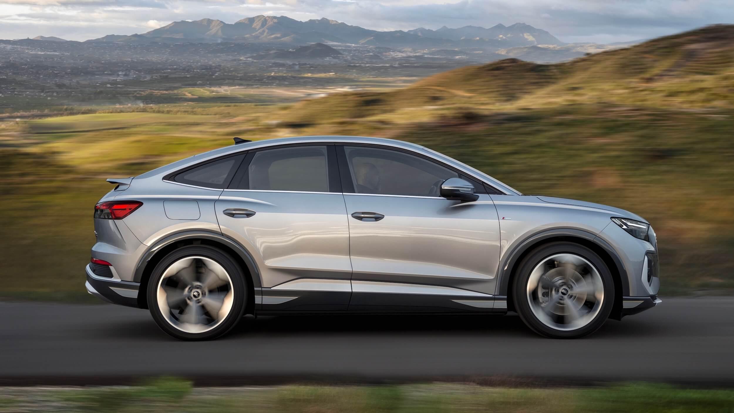 Audi Q4 Sportback e-tron perfil