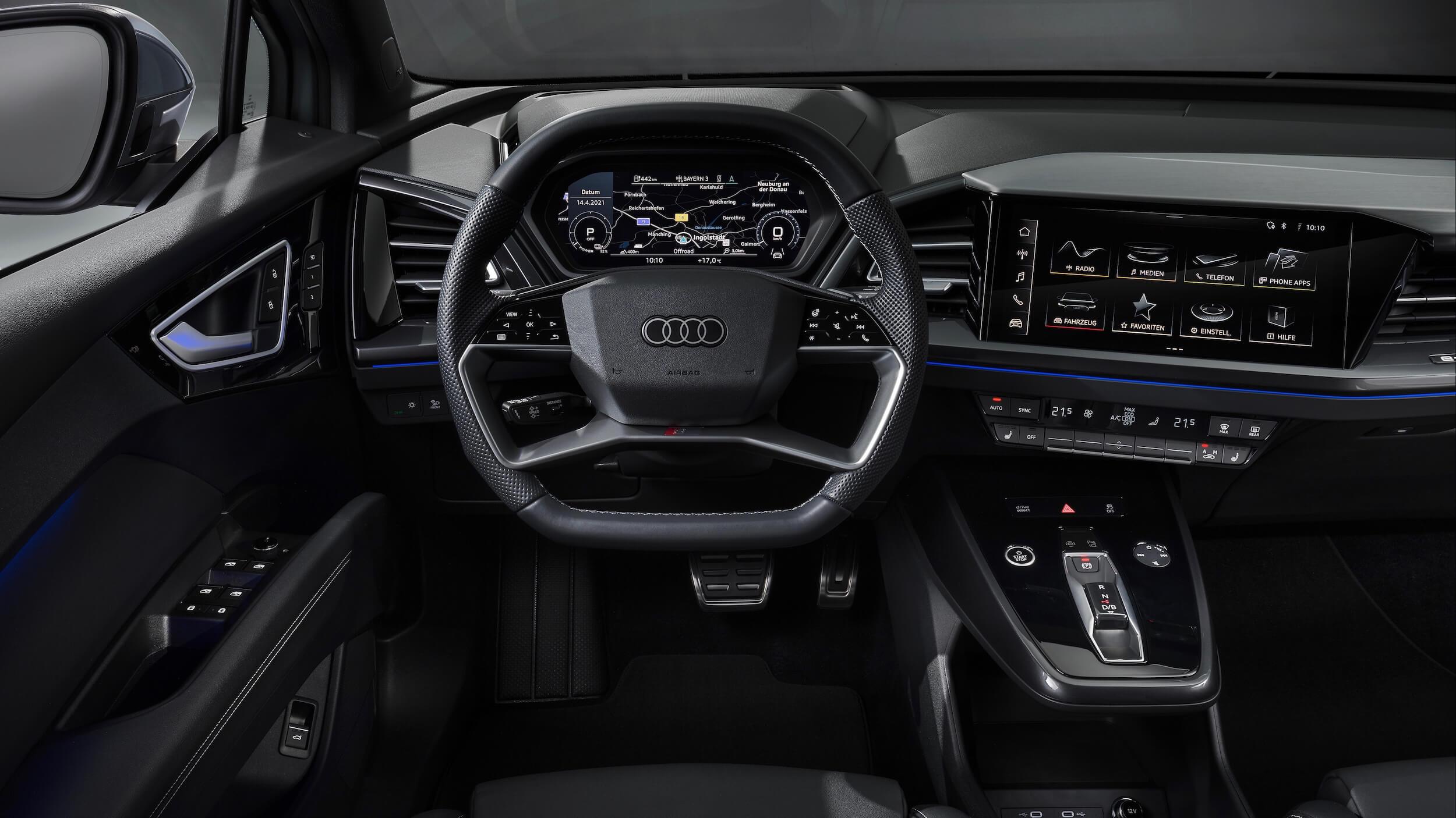 Audi Q4 Sportback e-tron volante