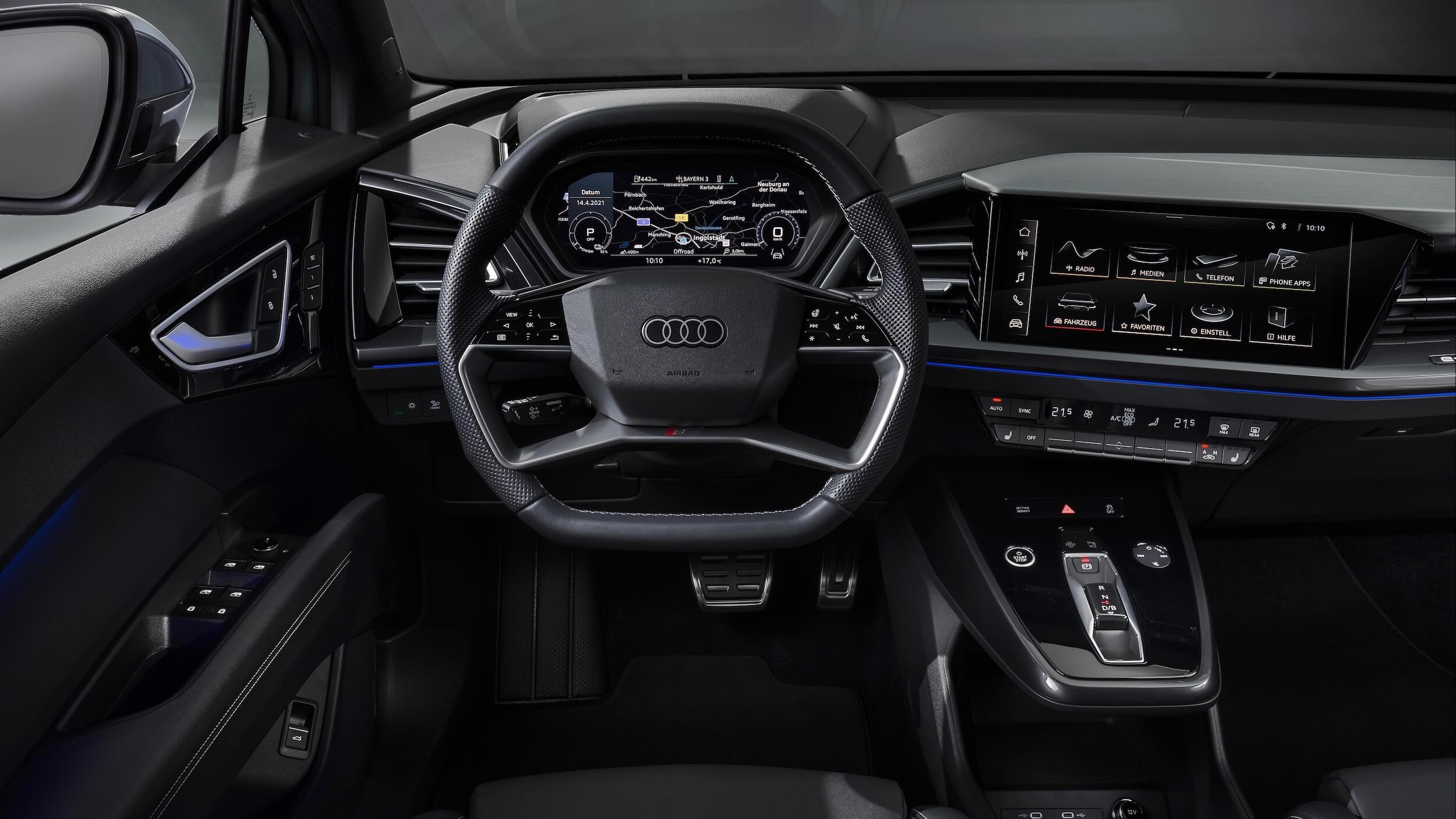 Audi Q4 e-tron volante