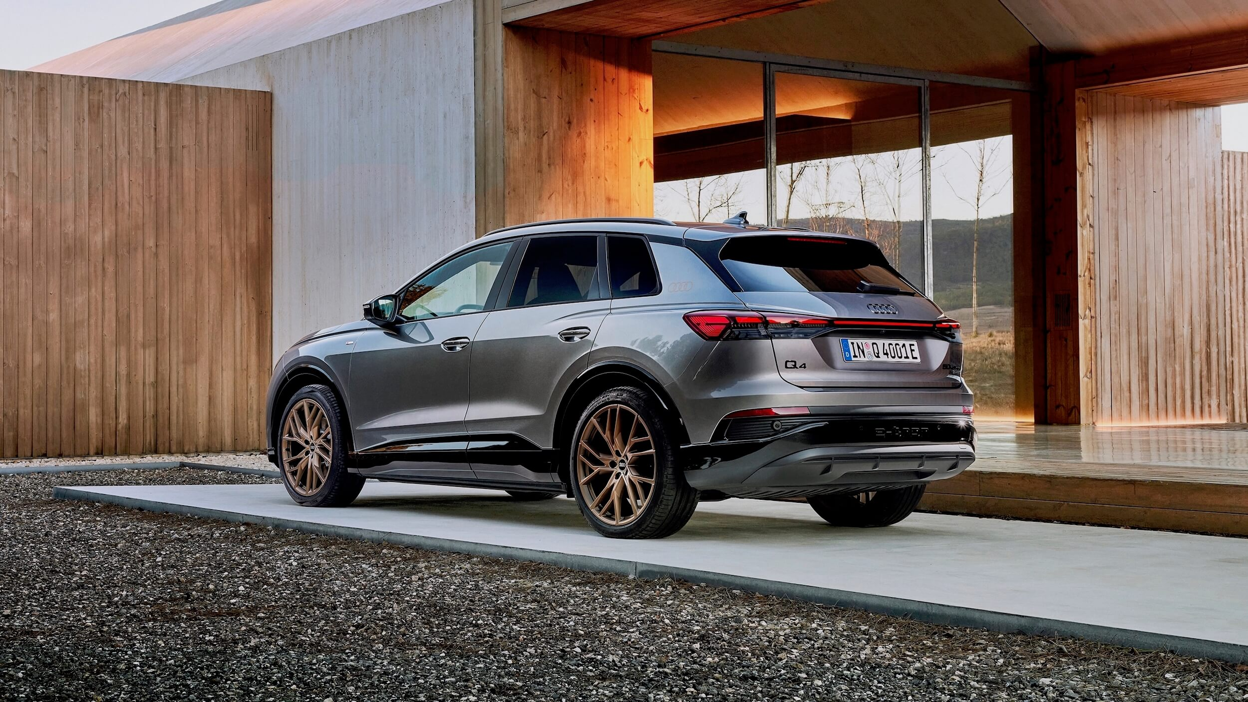 SUV elétrico Audi Q4 e-tron
