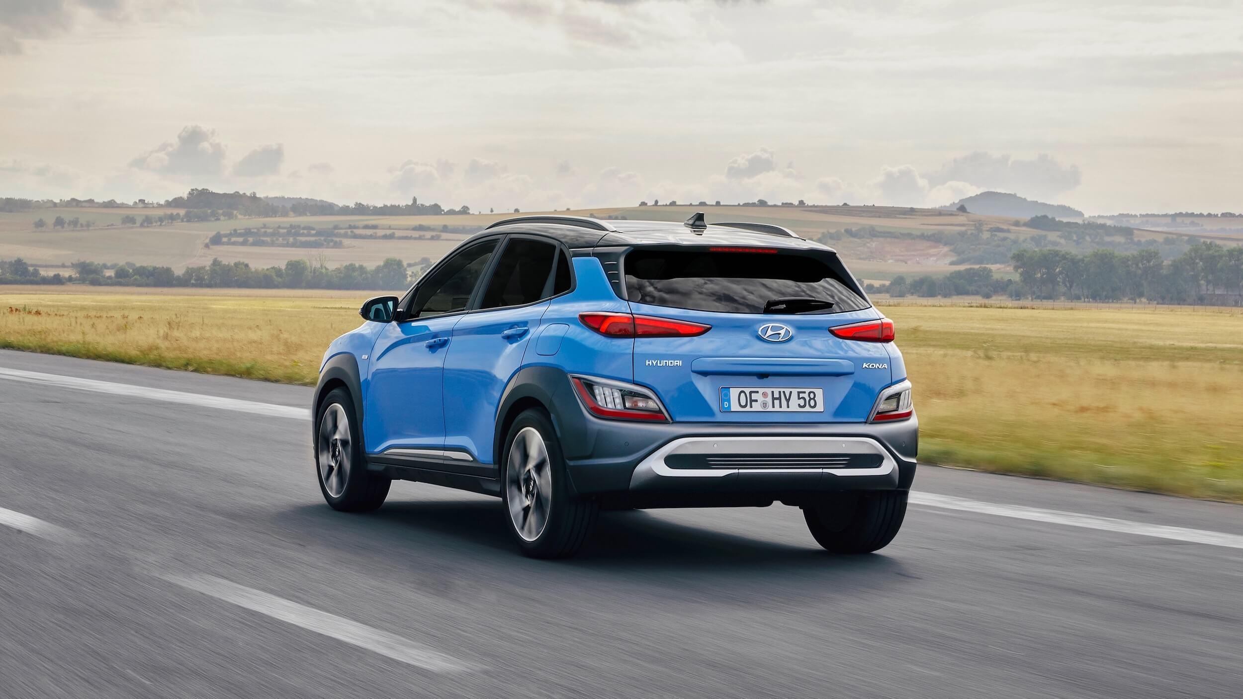 Hyundai Kona híbrido 2021