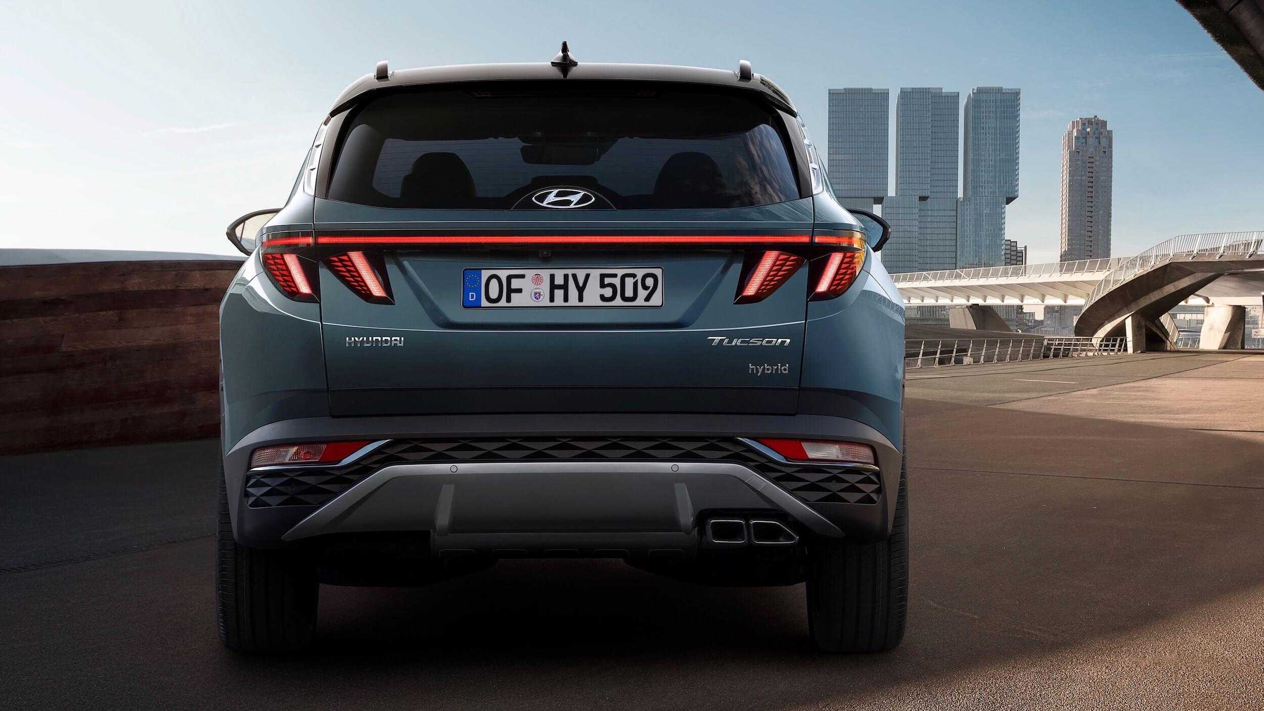 Hyundai Tucson híbrido traseira