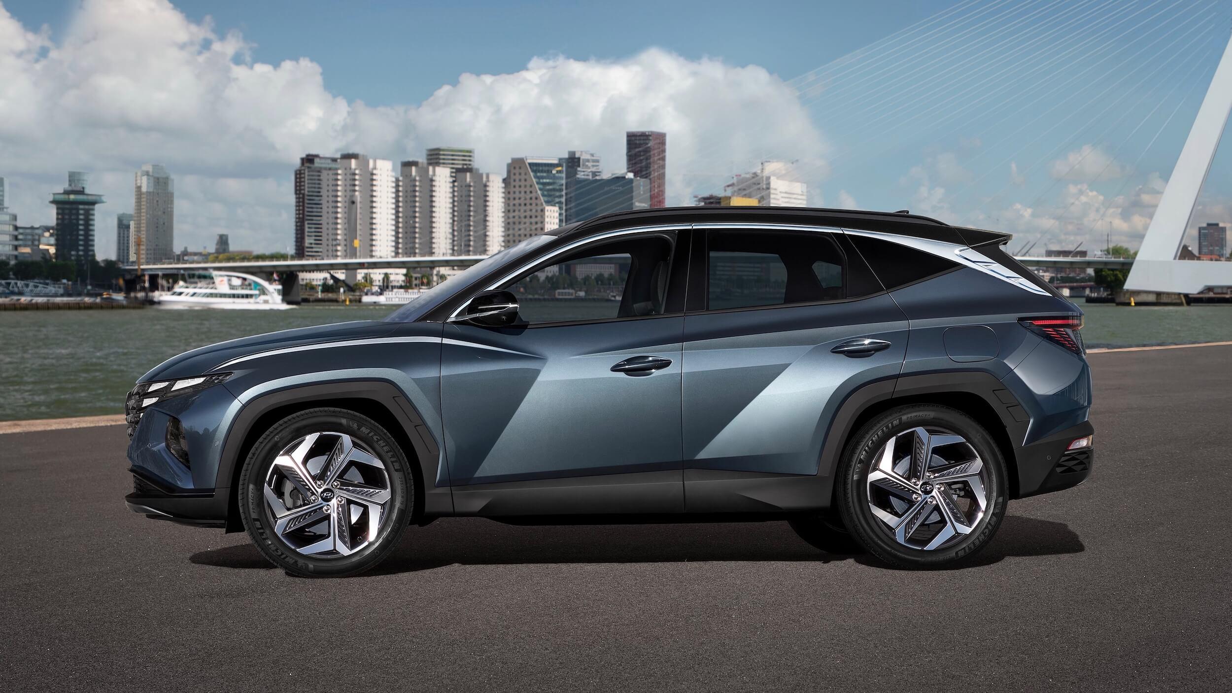 Novo Hyundai Tucson perfil