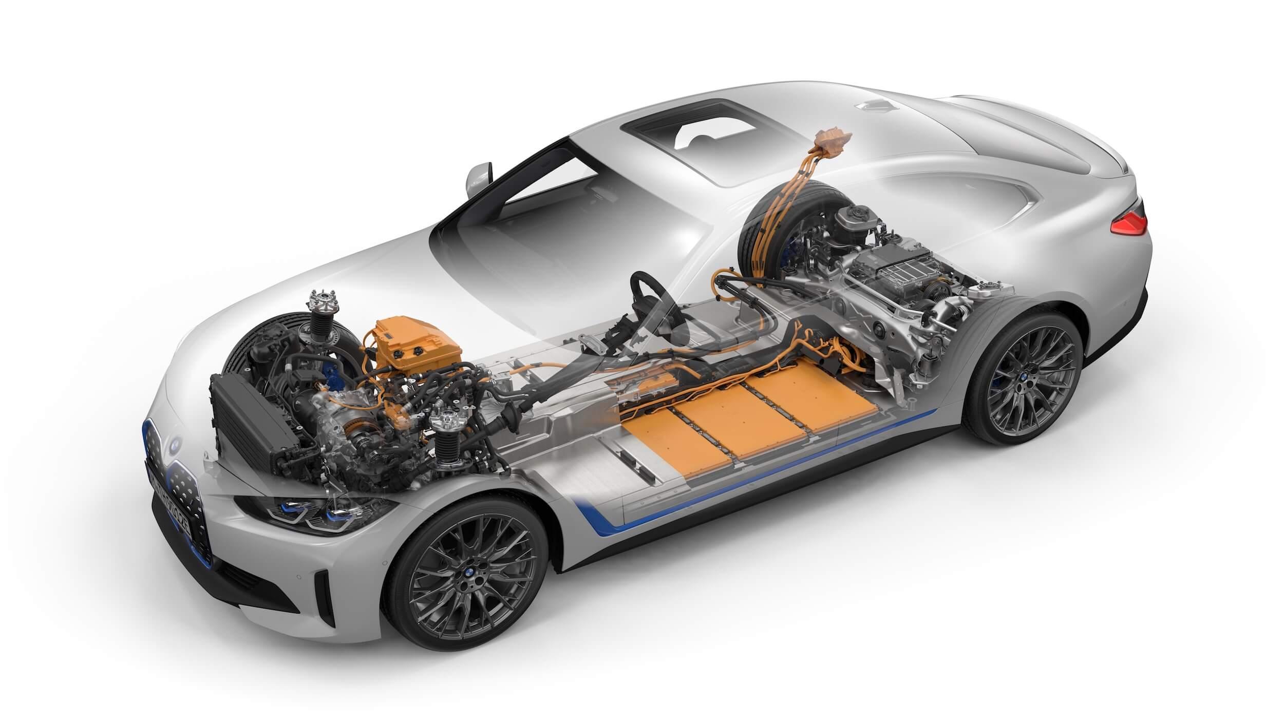 BMW i4 M50 bateria