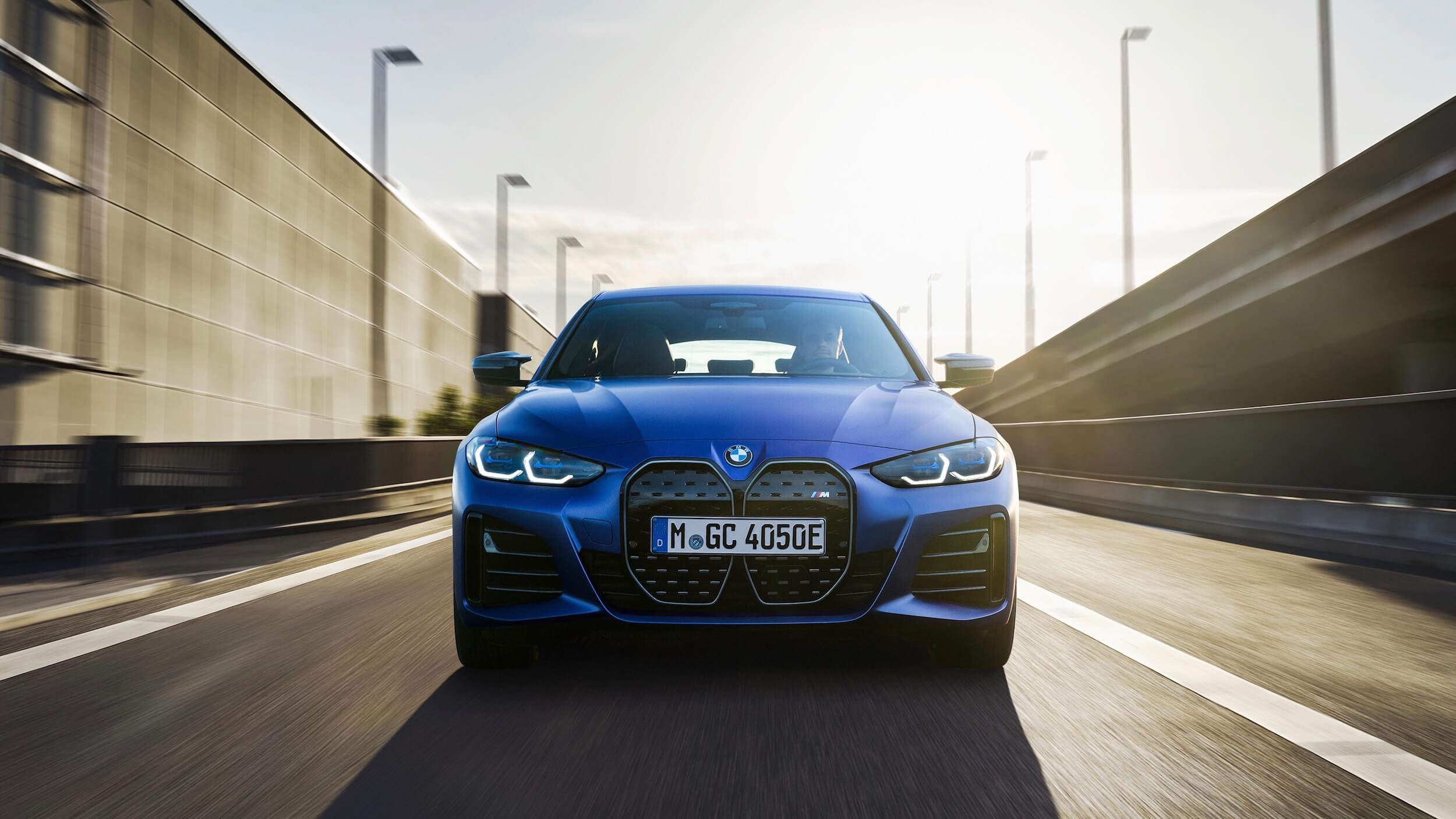 BMW i4 M50 frente