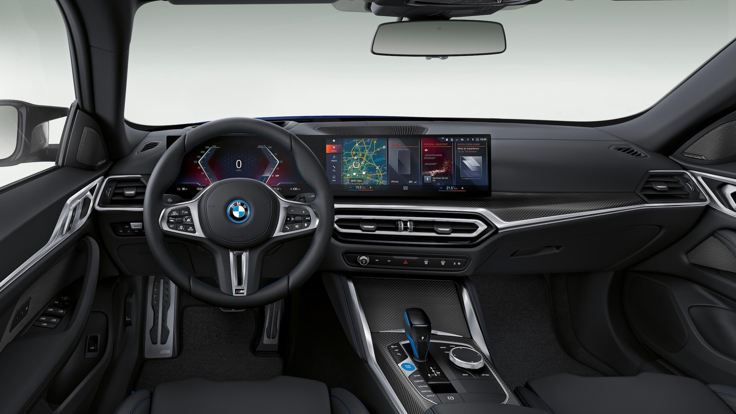 BMW i4 M50 interior