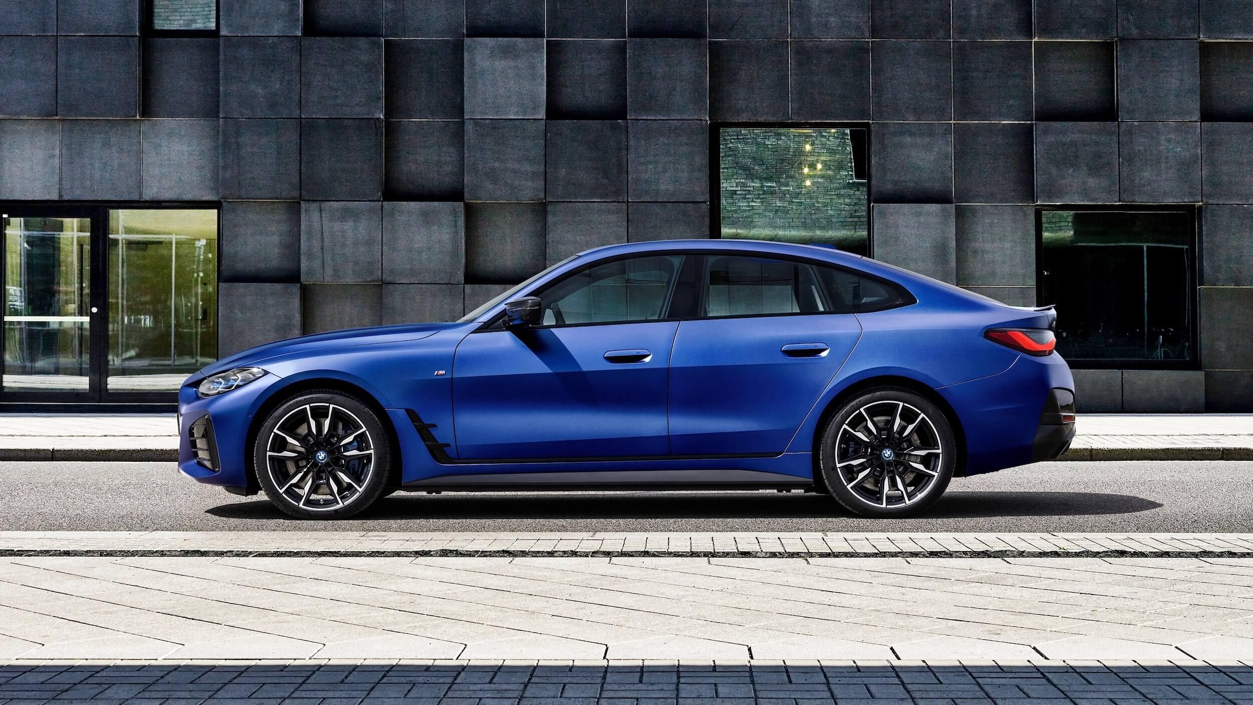 BMW i4 M50 perfil
