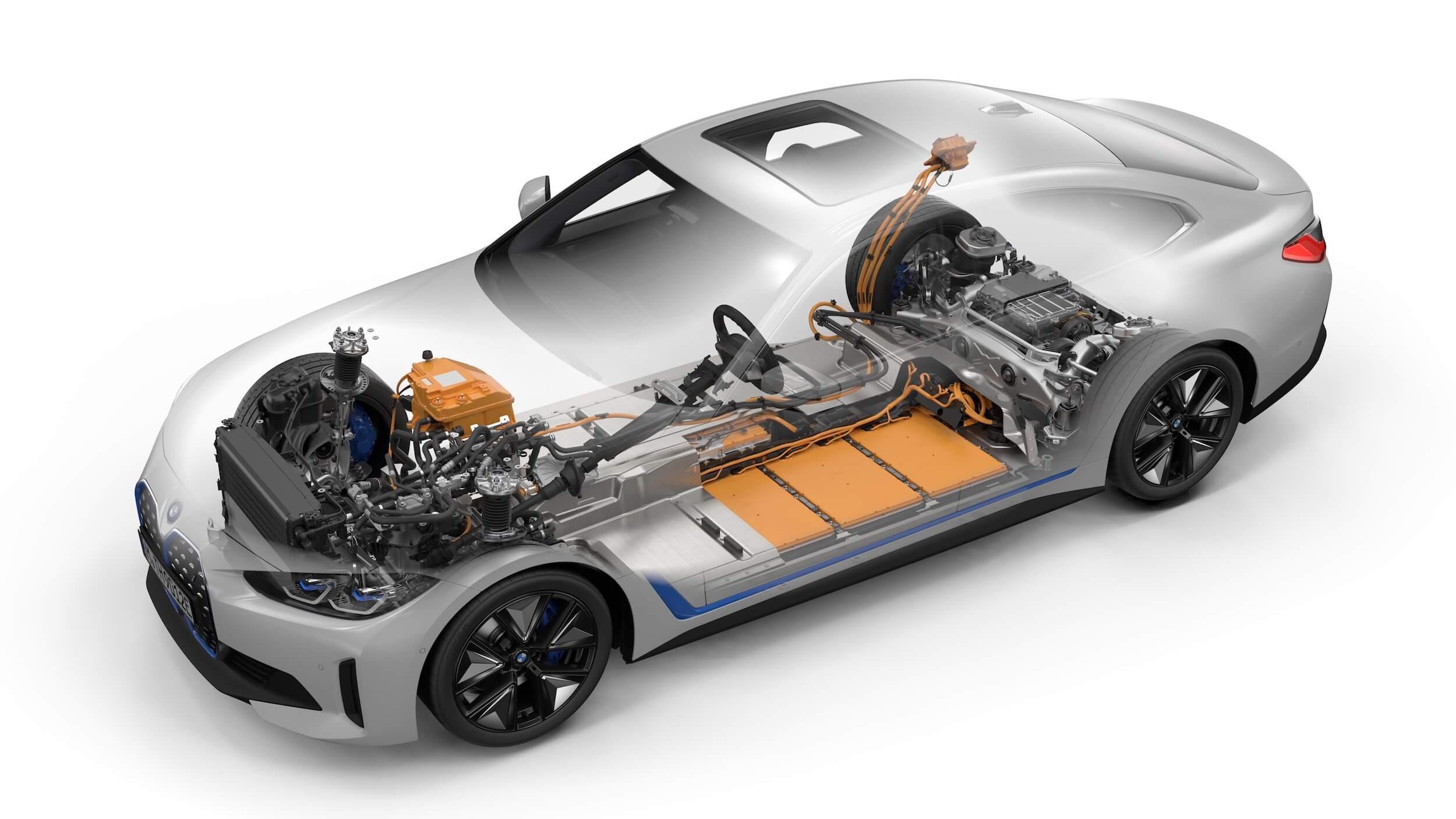BMW i4 eDrive40 bateria 2