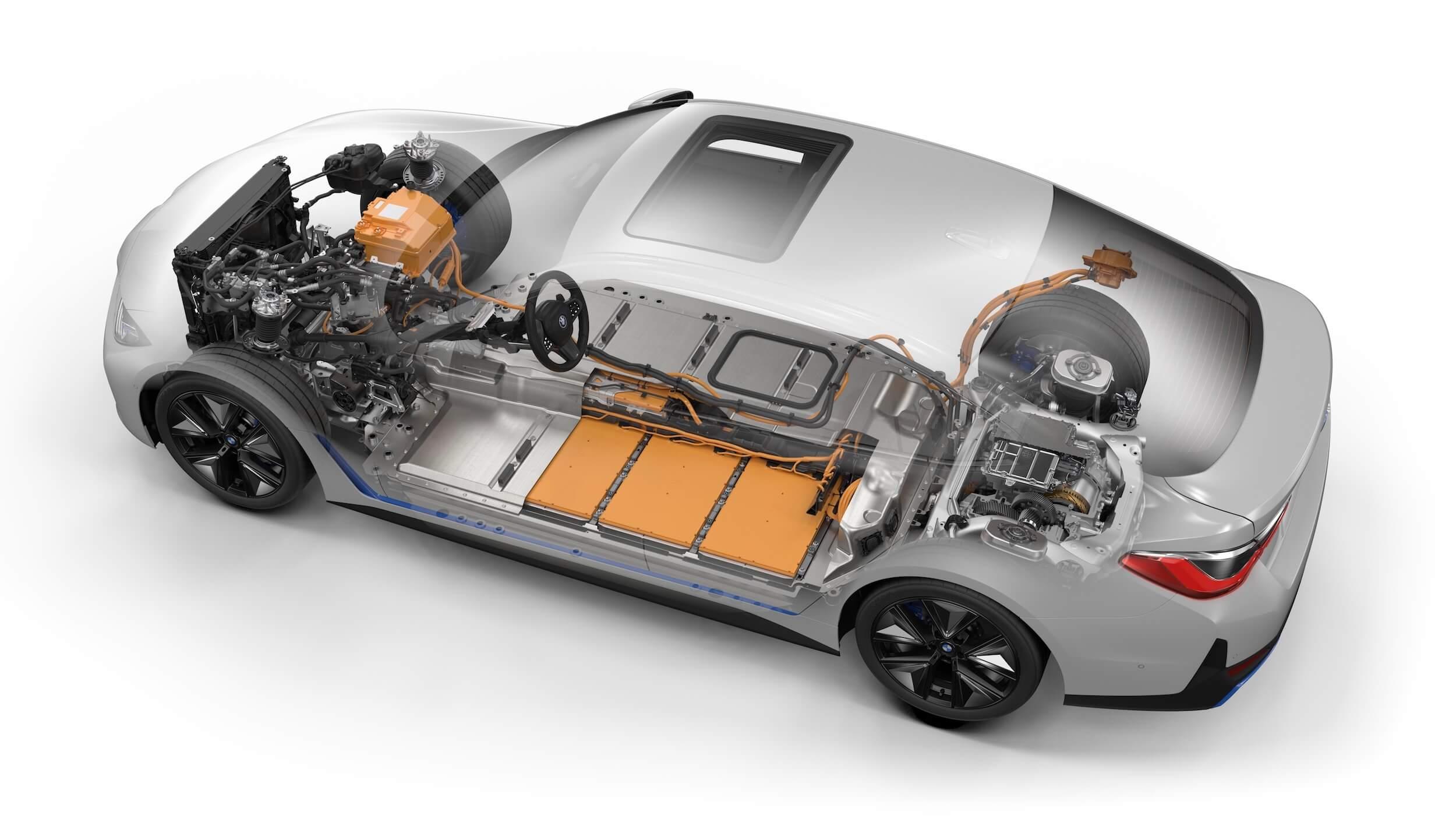 BMW i4 eDrive40 bateria