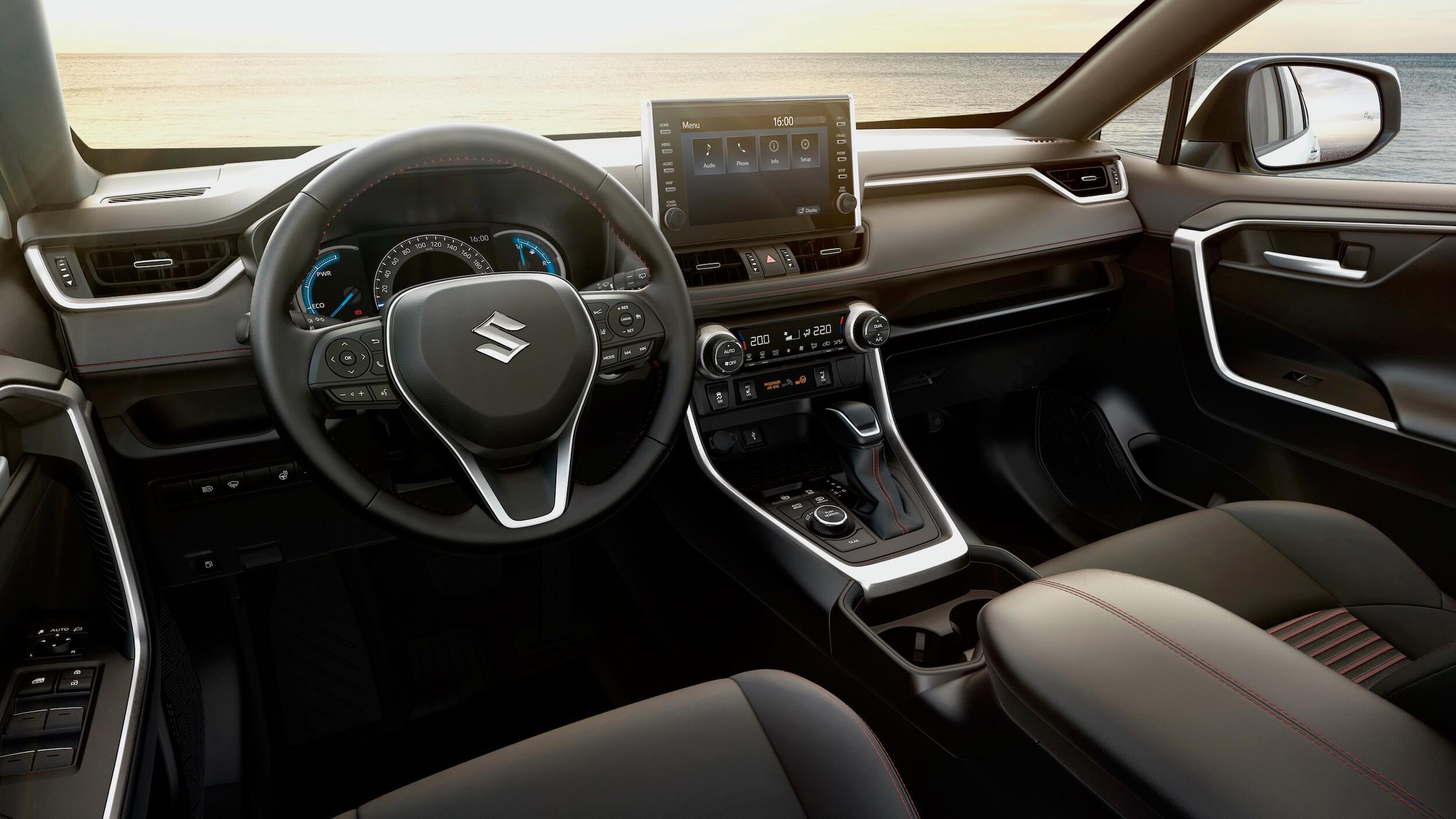 novo SUV Suzuki interior Rav4