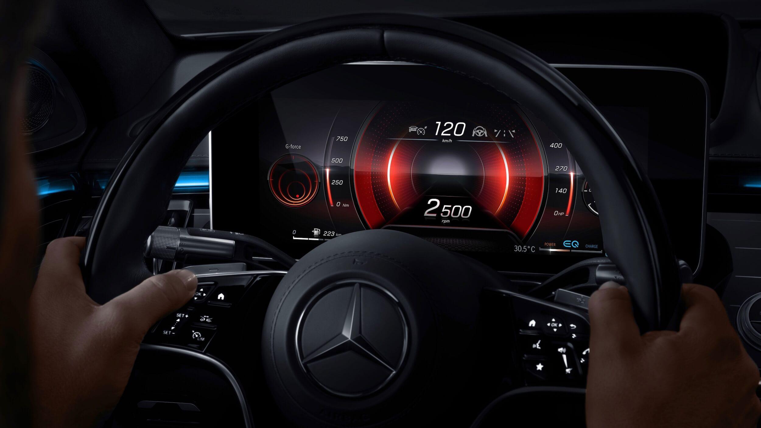 Mercedes S 580e 6