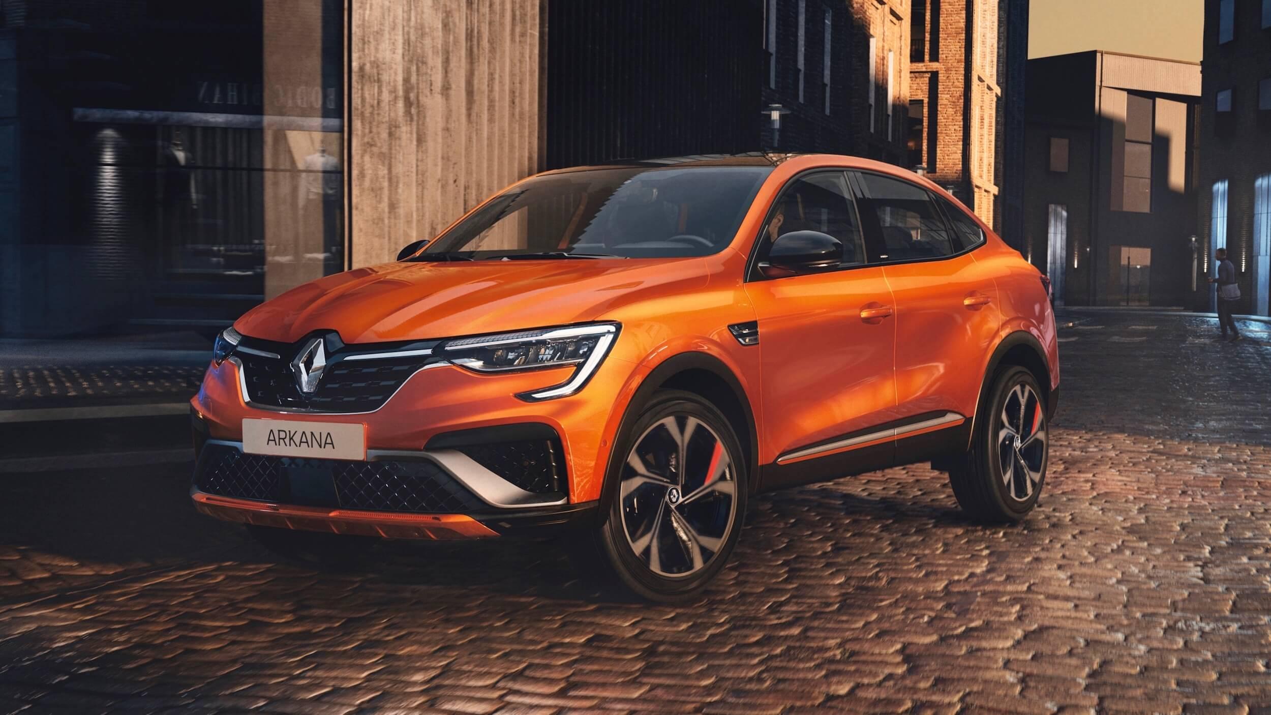 Renault Arkana Hybrid 2