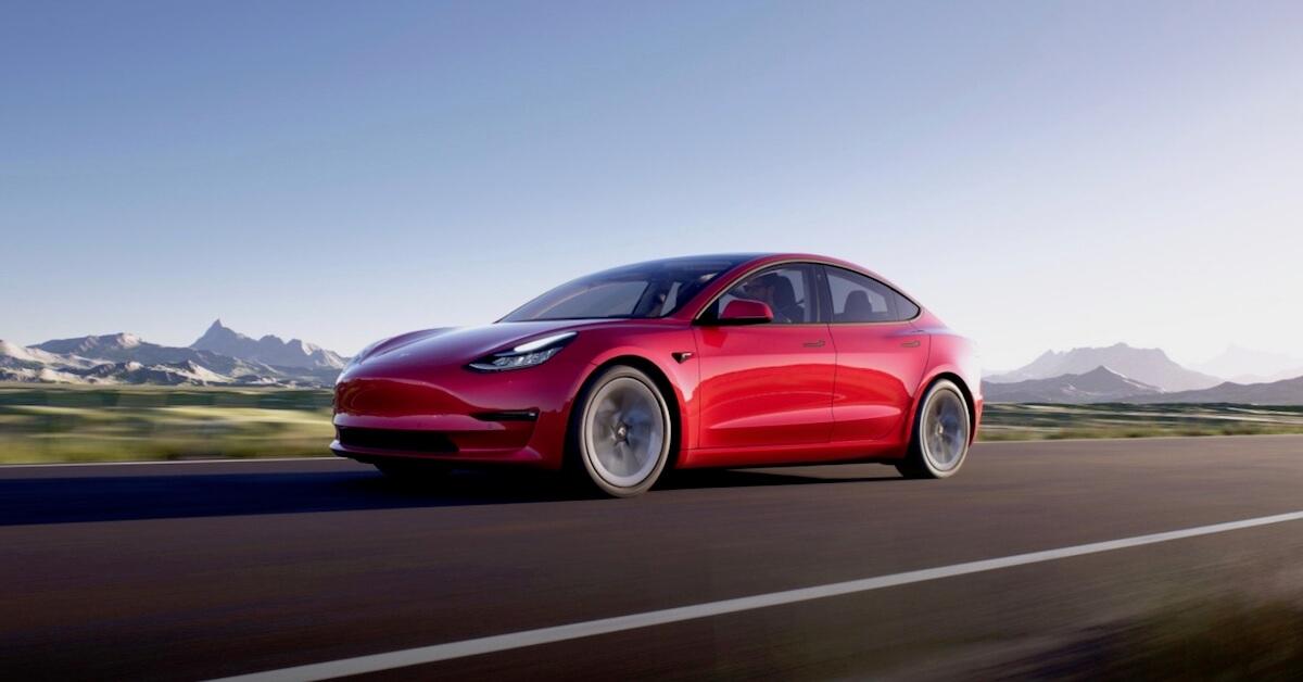 Tesla Model 3 carro elétrico