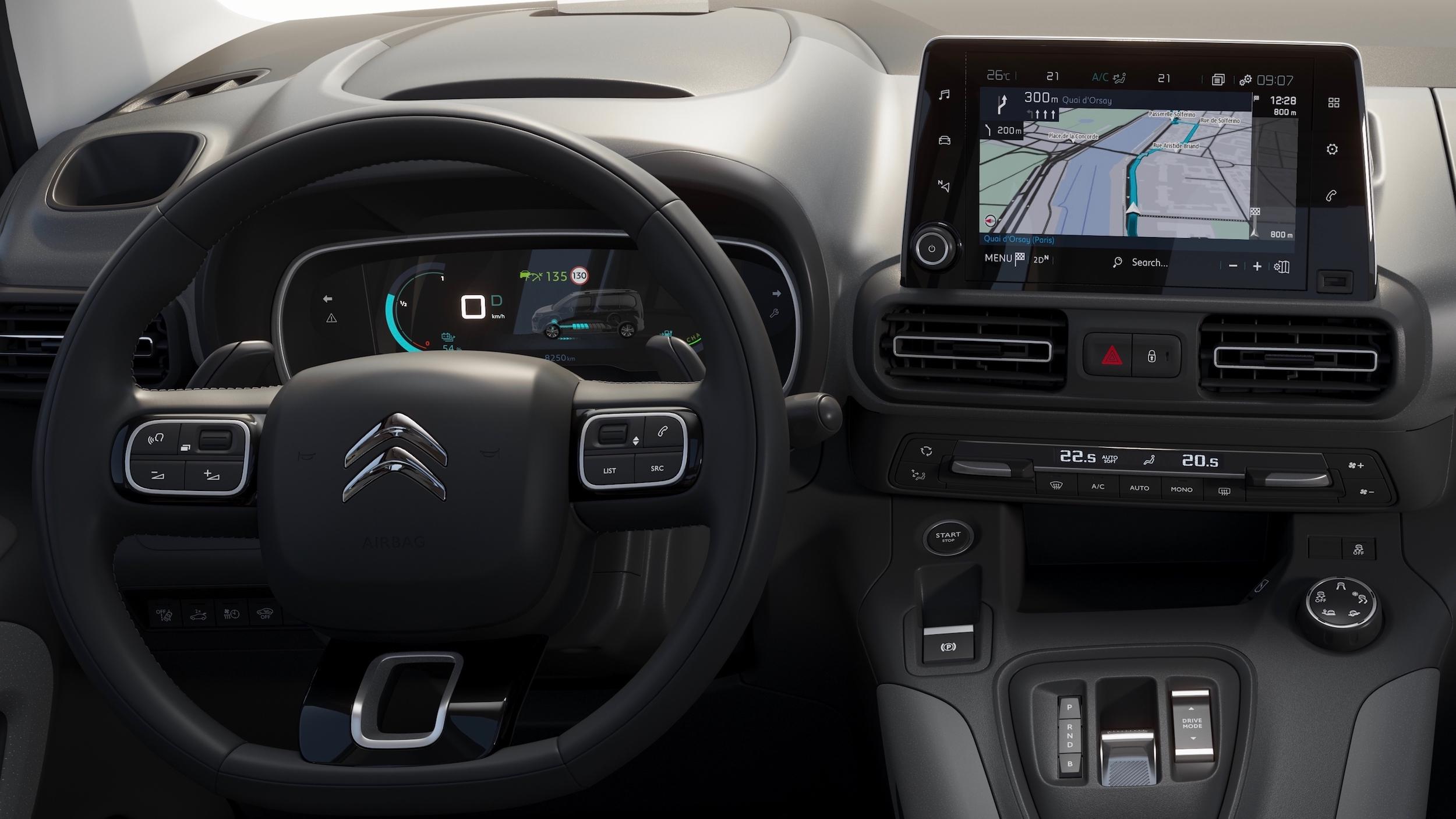 Citroën ë Berlingo volante