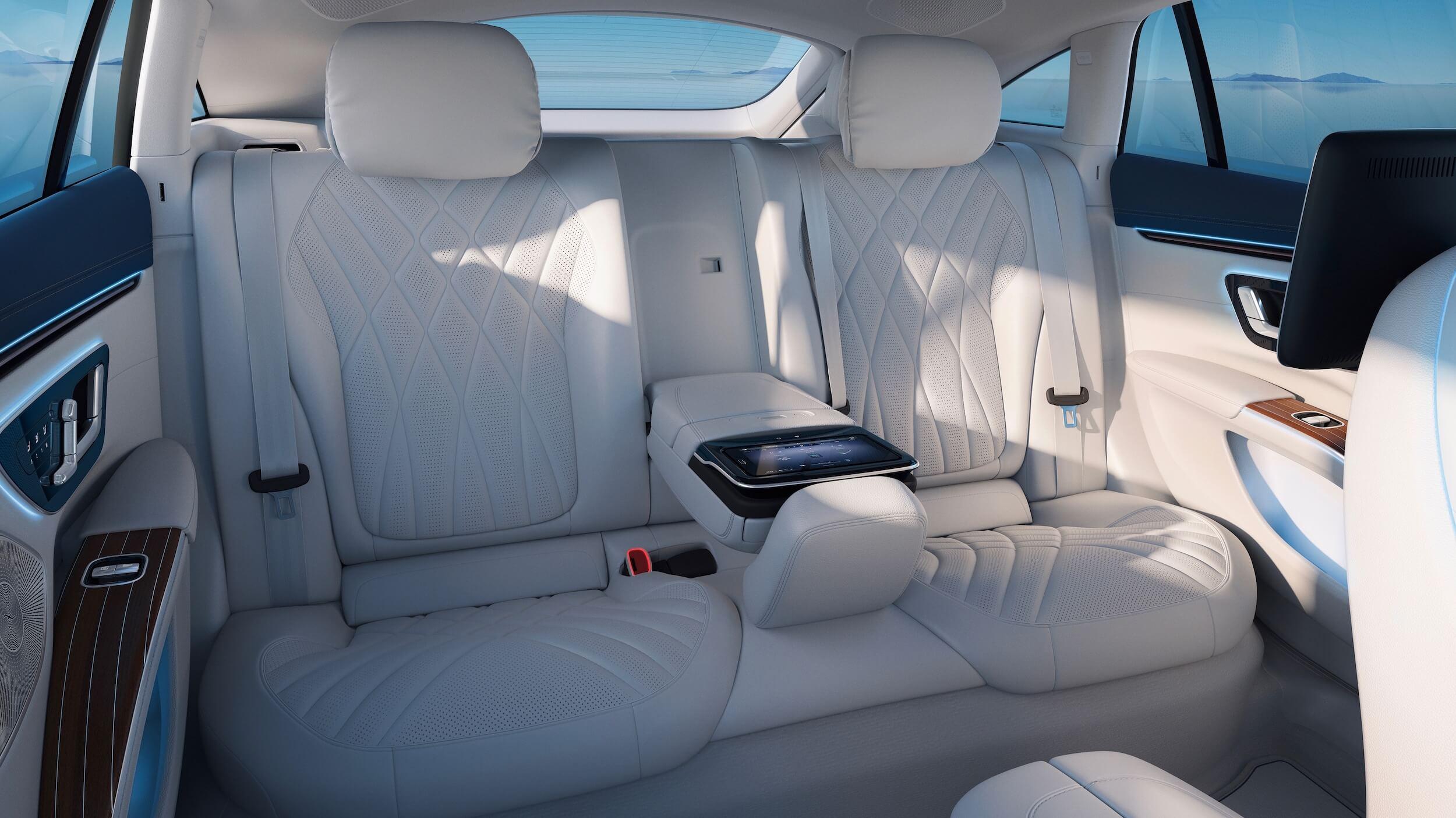 Mercedes EQS cadeiras