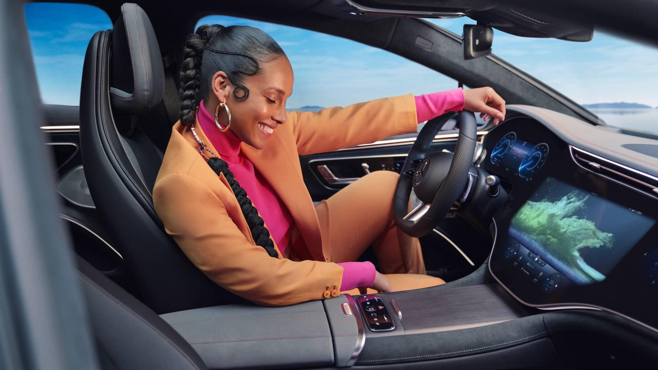 Mercedes EQS interior 3