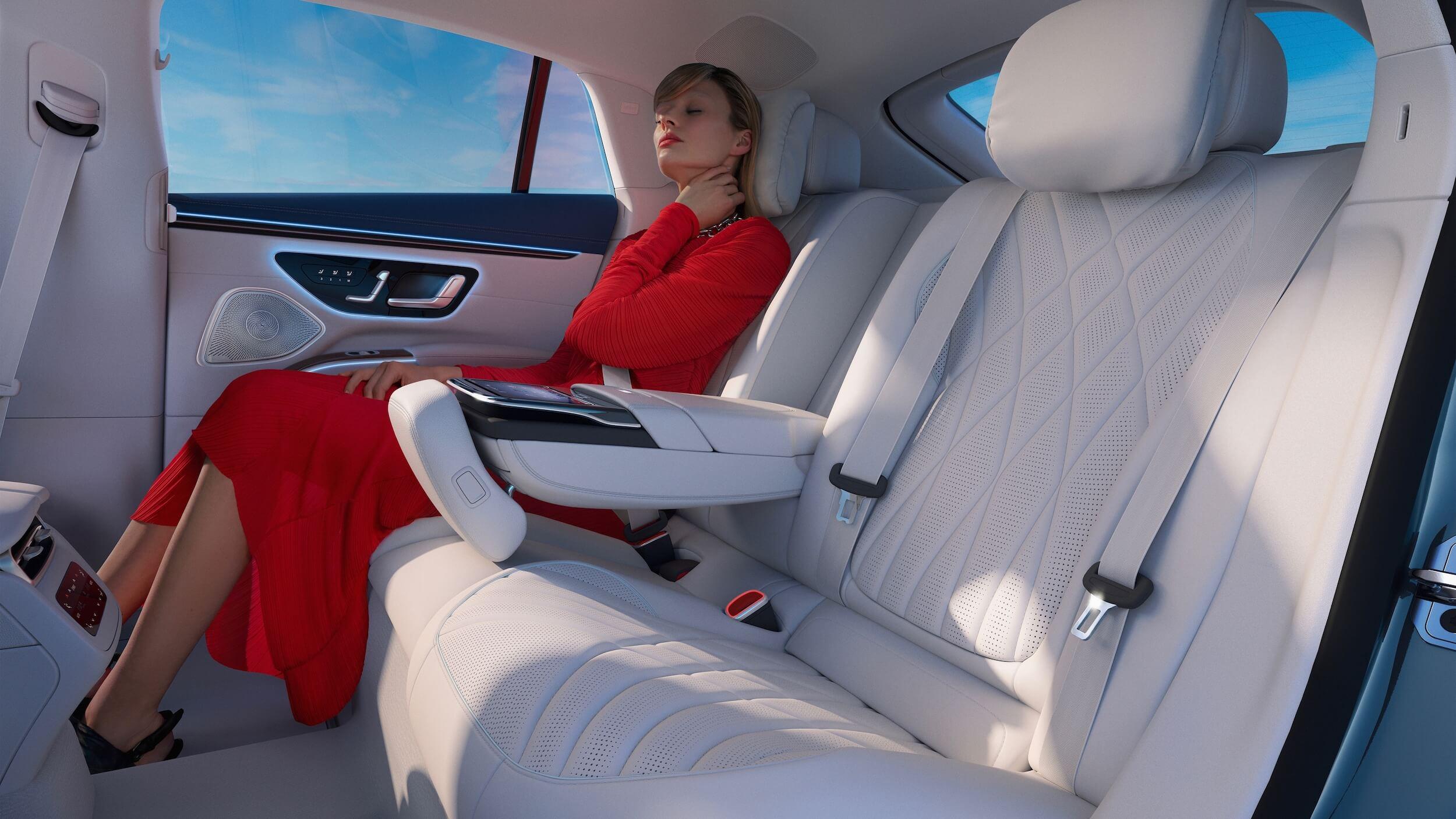 Mercedes EQS interior 4